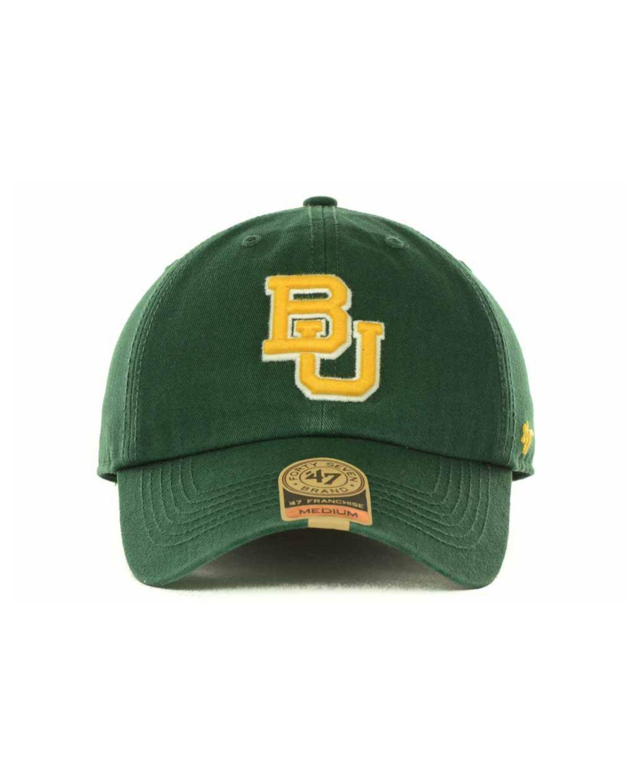 ... coupon lyst 47 brand baylor bears franchise cap in green for men save  31.034482758620683 5ae34 e91f0 2f2cd4dff