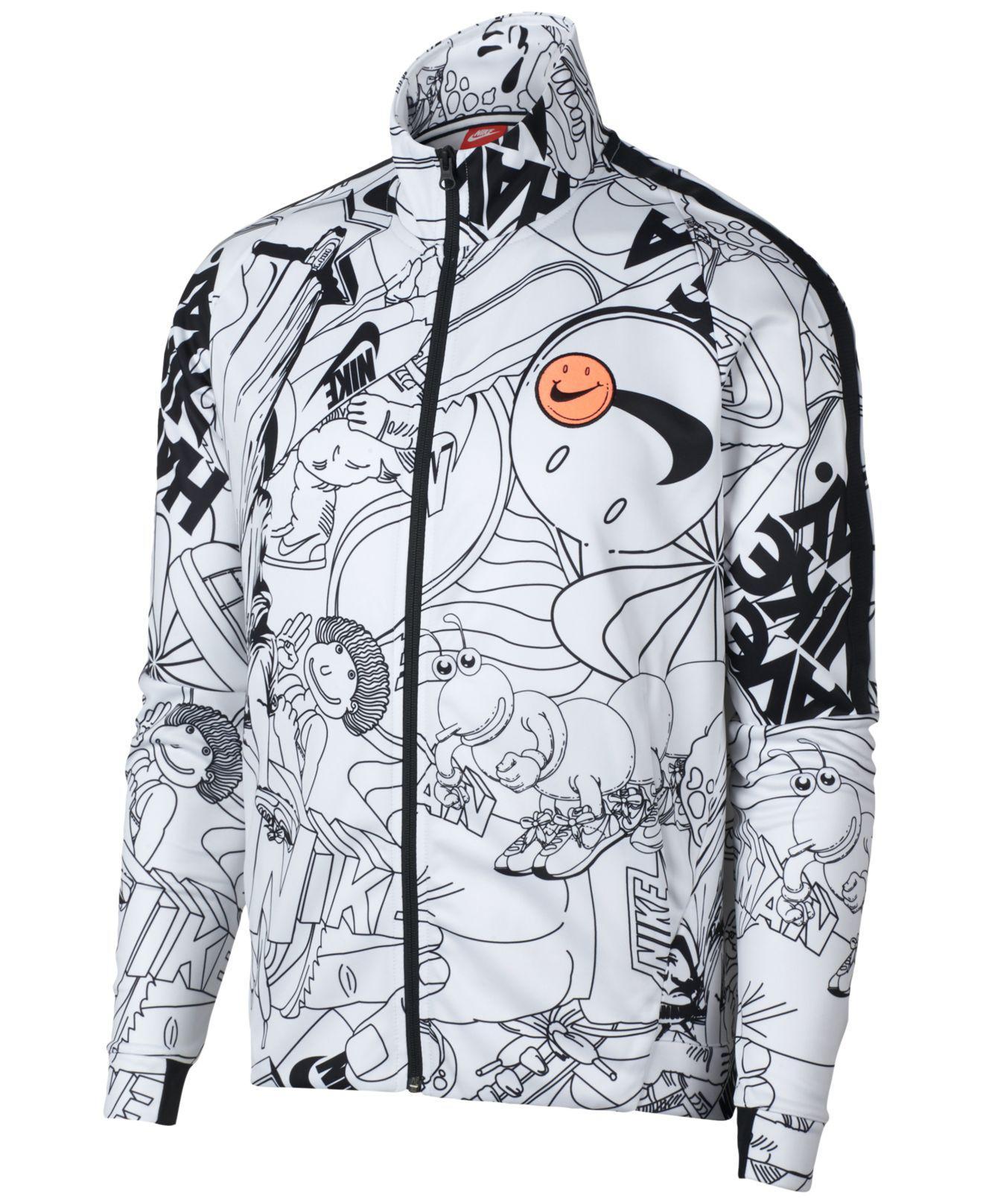 acbe7977701a Lyst - Nike Sportswear Graphic Jacket for Men