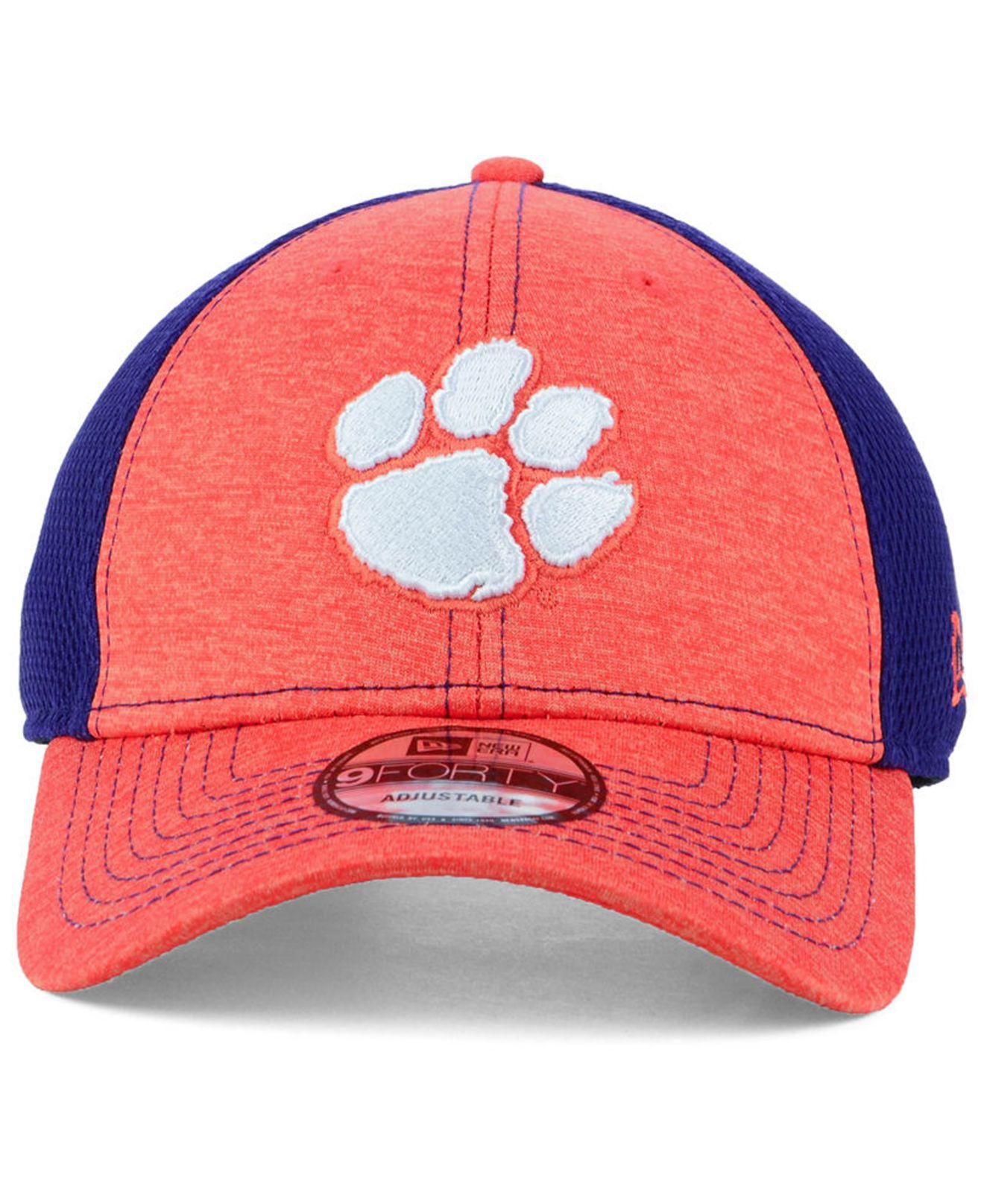 new arrival c570a d851e ... promo code for lyst ktz clemson tigers shadow turn 9forty cap for men  cec2b 82c4a
