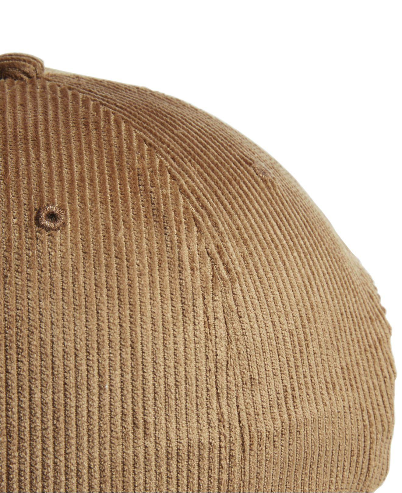 Lyst - adidas Originals Corduroy Logo Hat in Brown for Men b1b7342ecc50