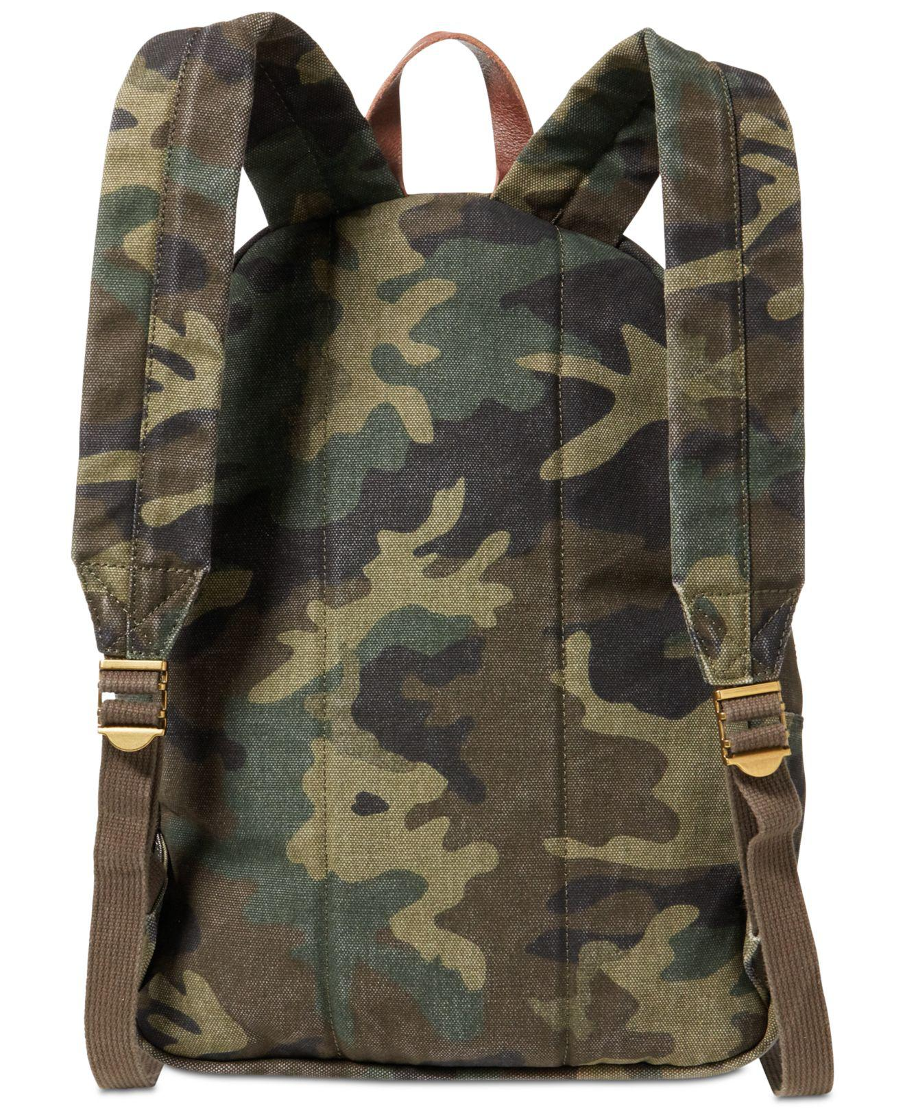 203492108b Lyst - Polo Ralph Lauren Camouflage Canvas Backpack for Men