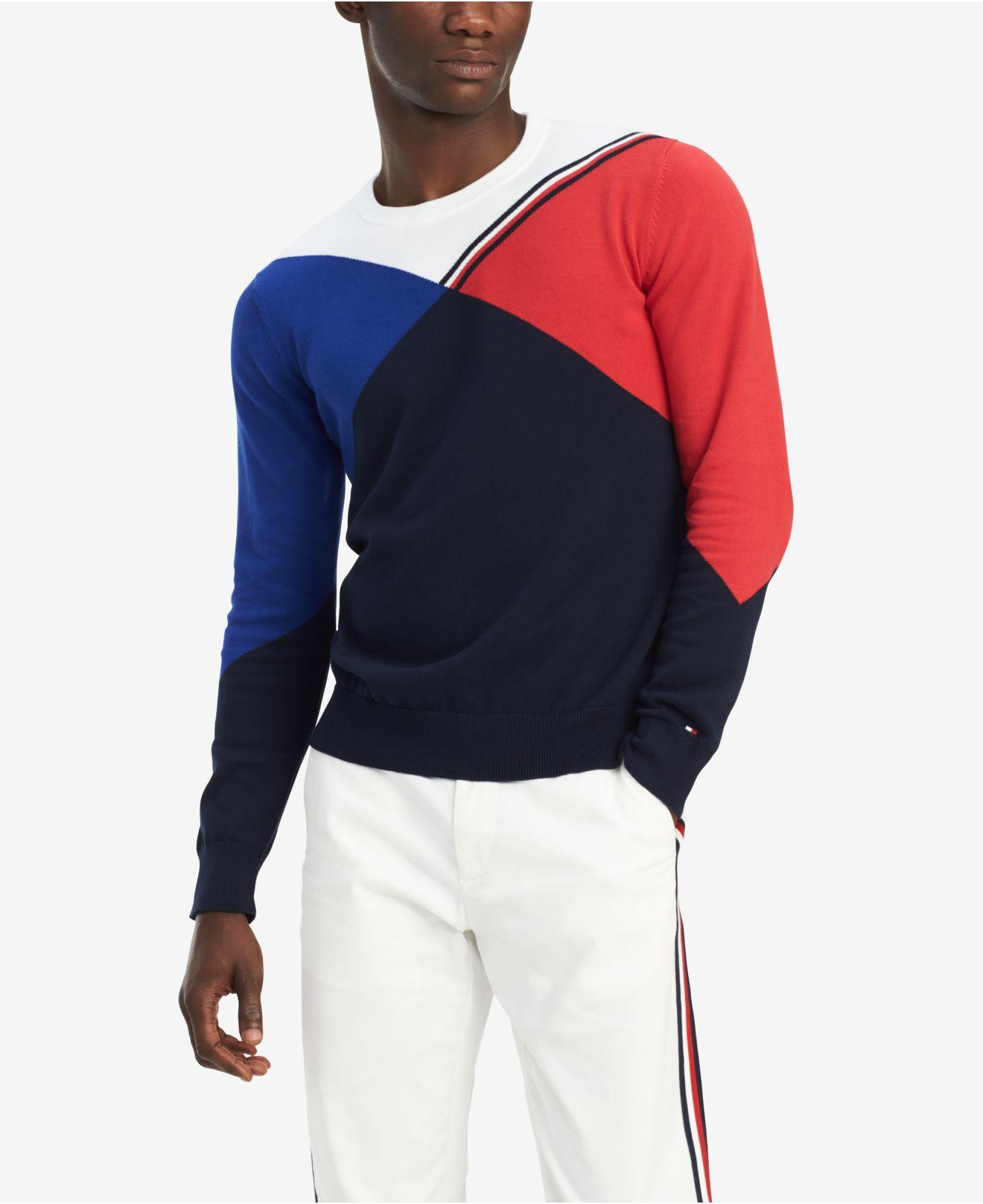 07b96834928d54 Tommy Hilfiger. Men s Blue Bobby Sweatshirt