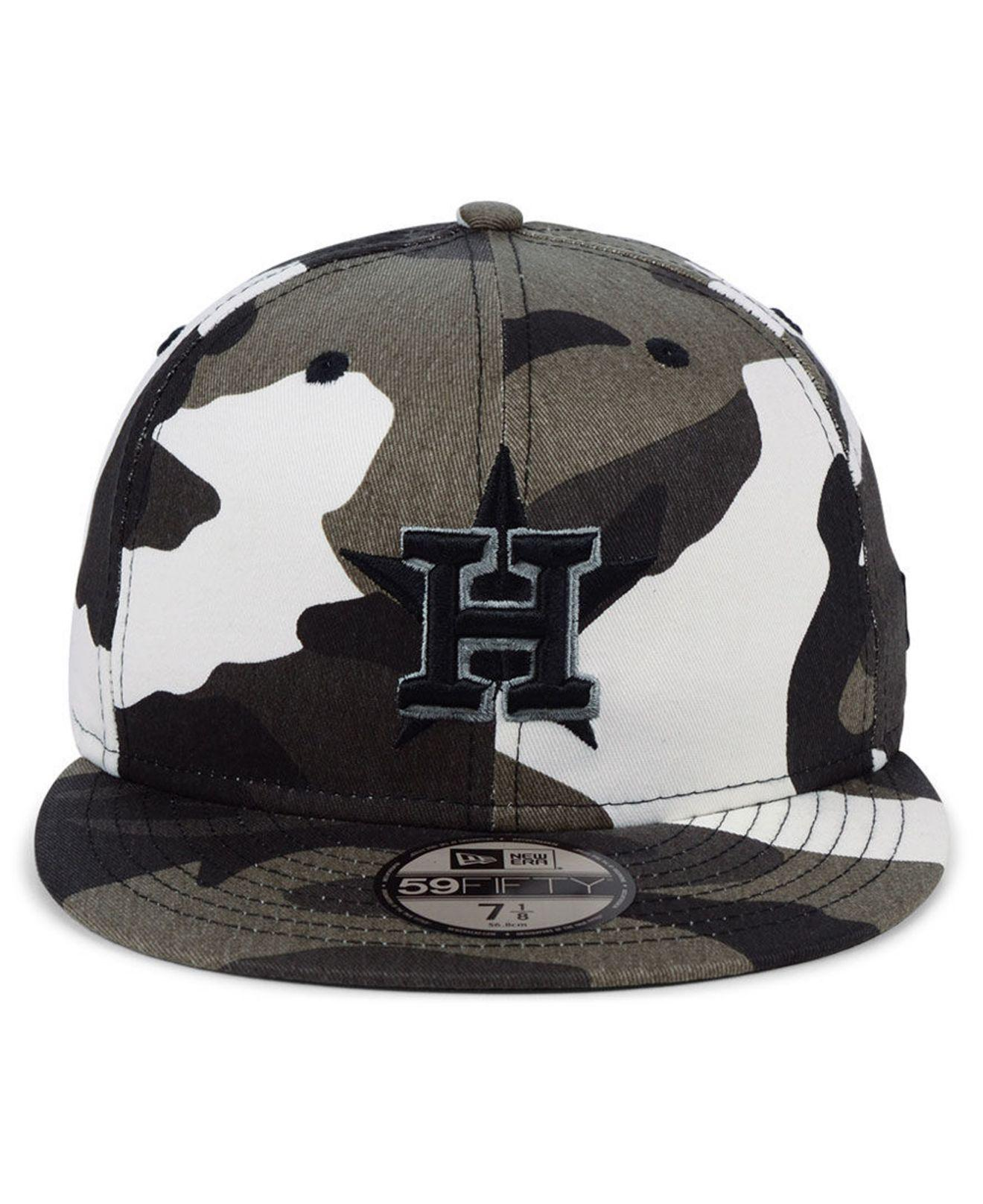 new style e25d3 a1101 ... wholesale lyst ktz houston astros fall prism pack 59fifty fitted cap in  black for men 9e10e