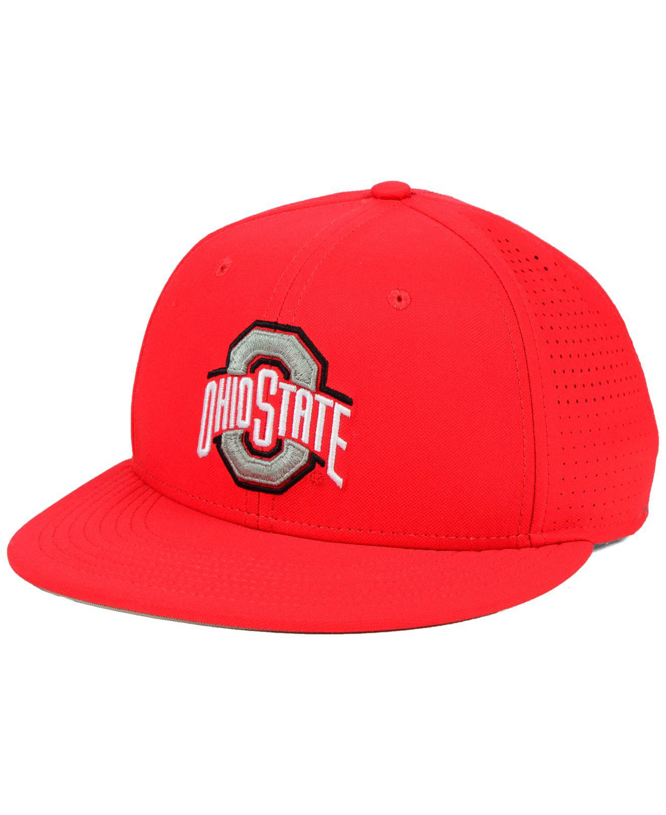 31eda625f5c50 Lyst - Nike Ohio State Buckeyes True Vapor Fitted Cap in Red for Men