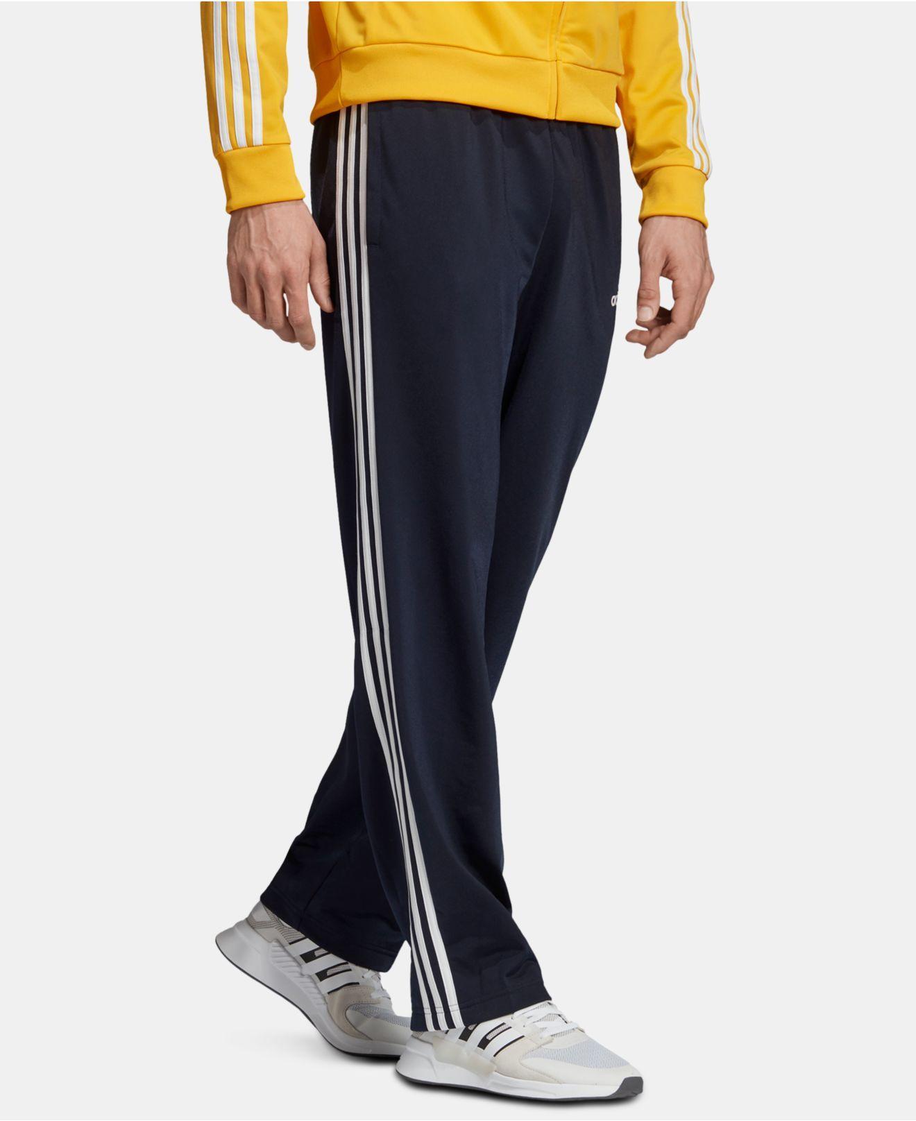 3b4650e75 adidas Essentials 3-stripe Pants in Blue for Men - Lyst
