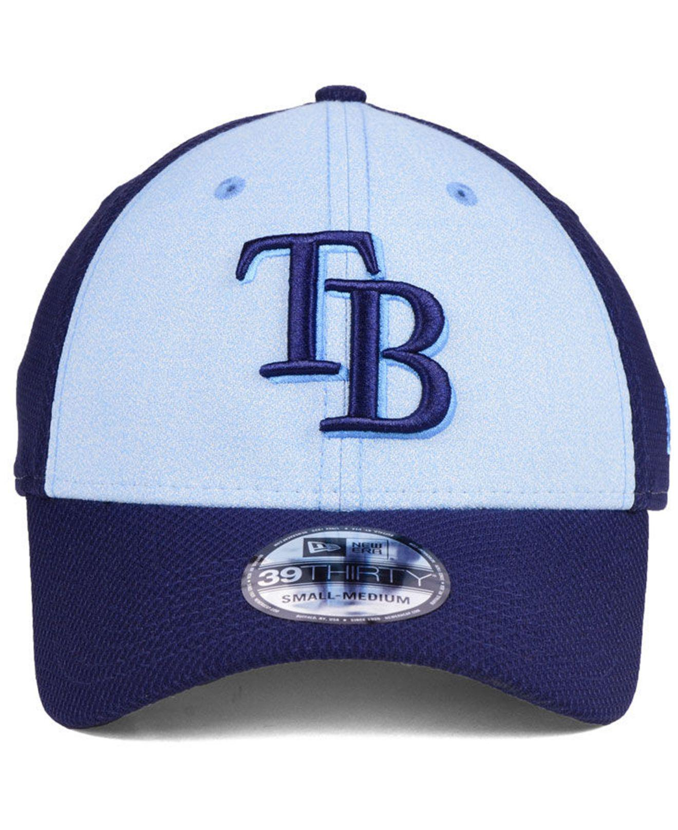 reputable site 78bda 329fe Lyst - KTZ Tampa Bay Rays Father s Day 39thirty Cap 2018 in Blue for Men