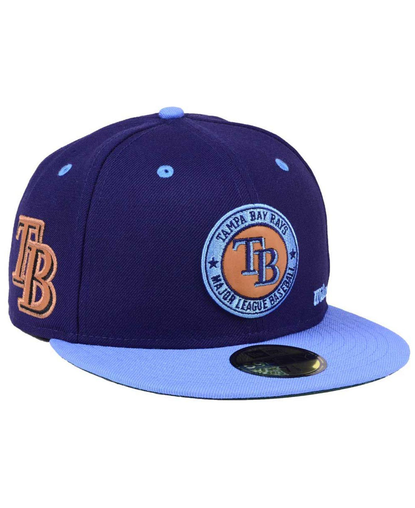newest 8afea 61411 ... purchase ktz. mens blue x wilson circle patch 59fifty cap 4a115 69bea