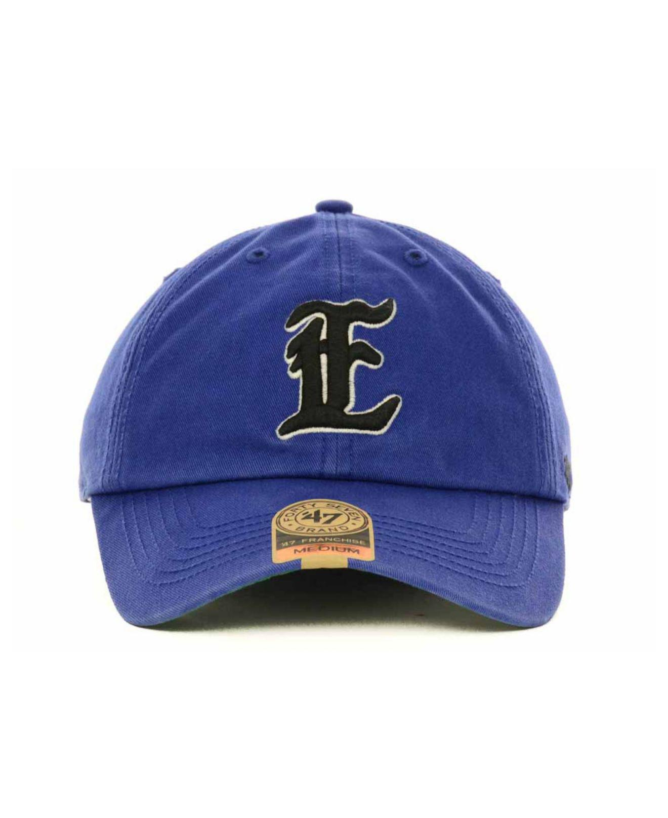 release date 7ec3e 212db ... best lyst 47 brand eastern illinois panthers ncaa 47 franchise cap in  blue for men c6f3f
