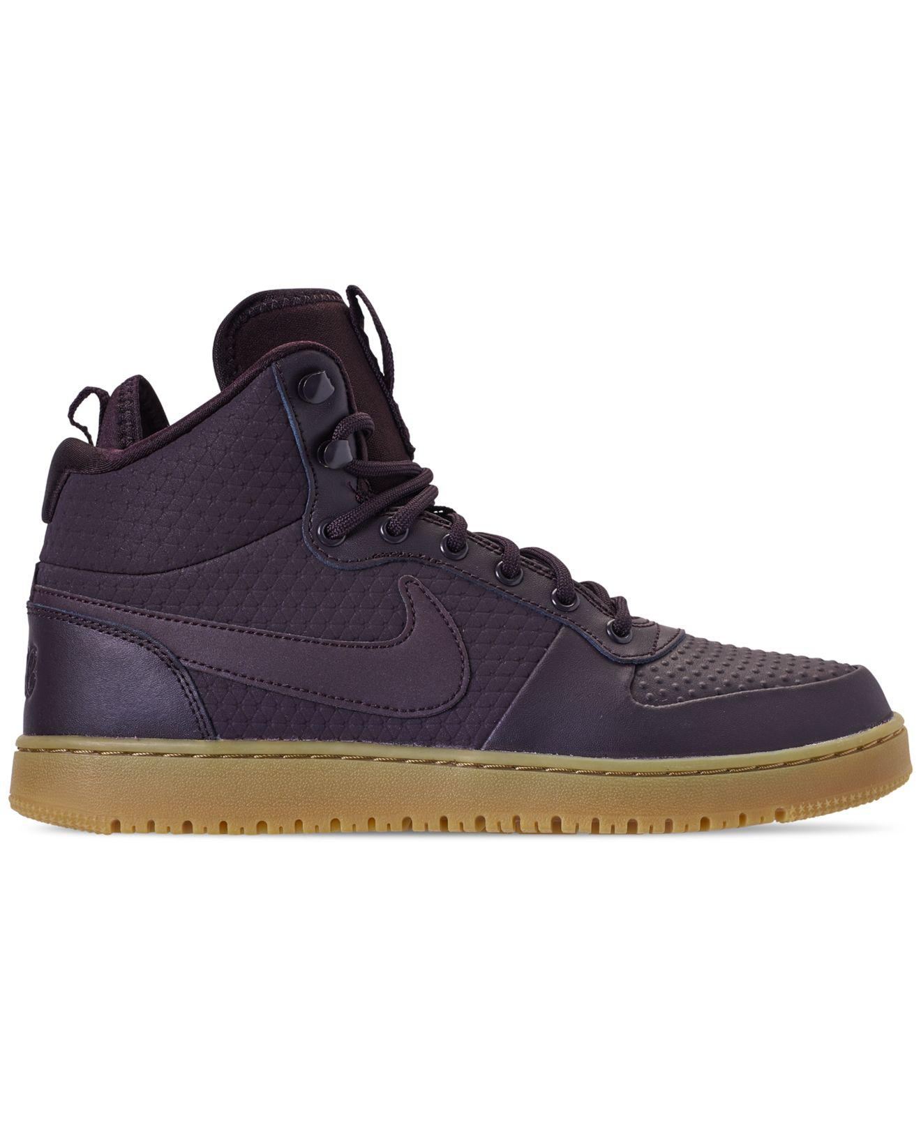 9ad09cf599 Lyst - Nike Ebernon Mid Winter Casual Sneakers From Finish Line in Blue for  Men - Save 12%