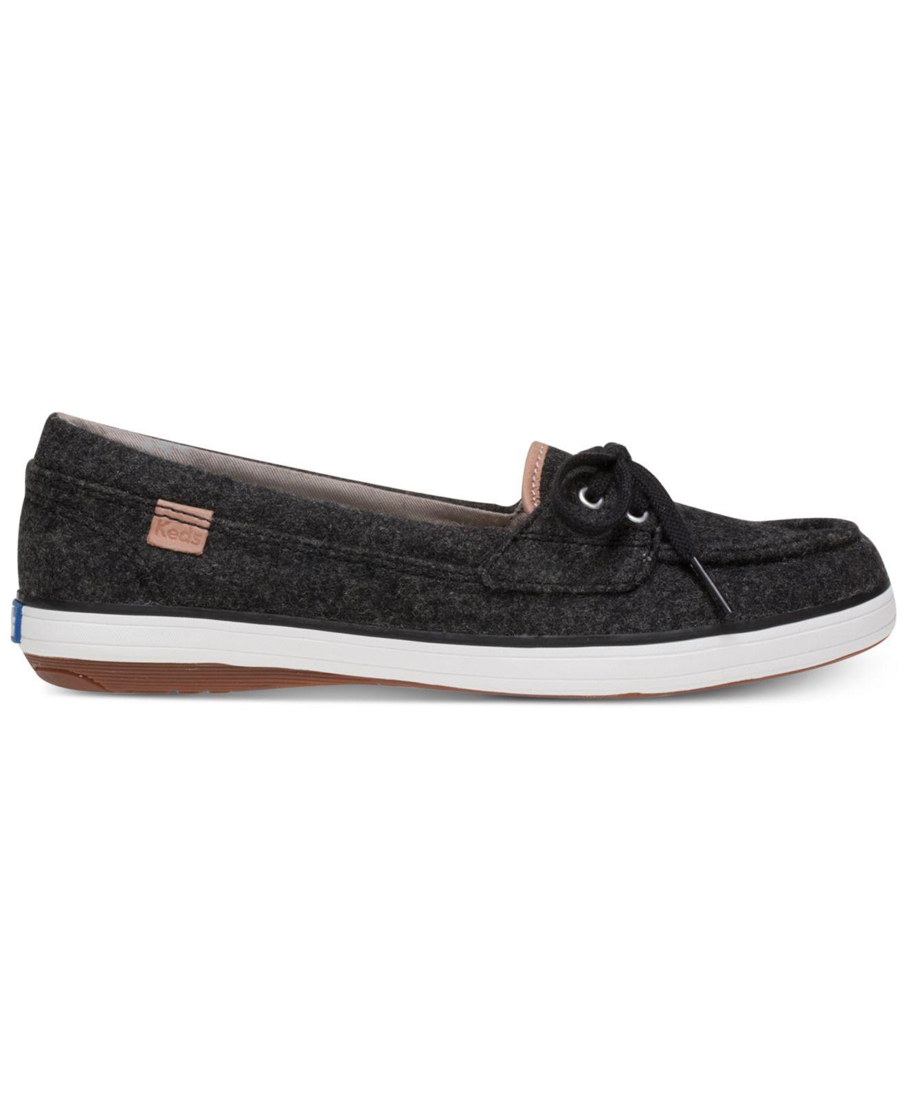 49cfcff1 Lyst - Keds Glimmer Felt Slip-on Sneakers