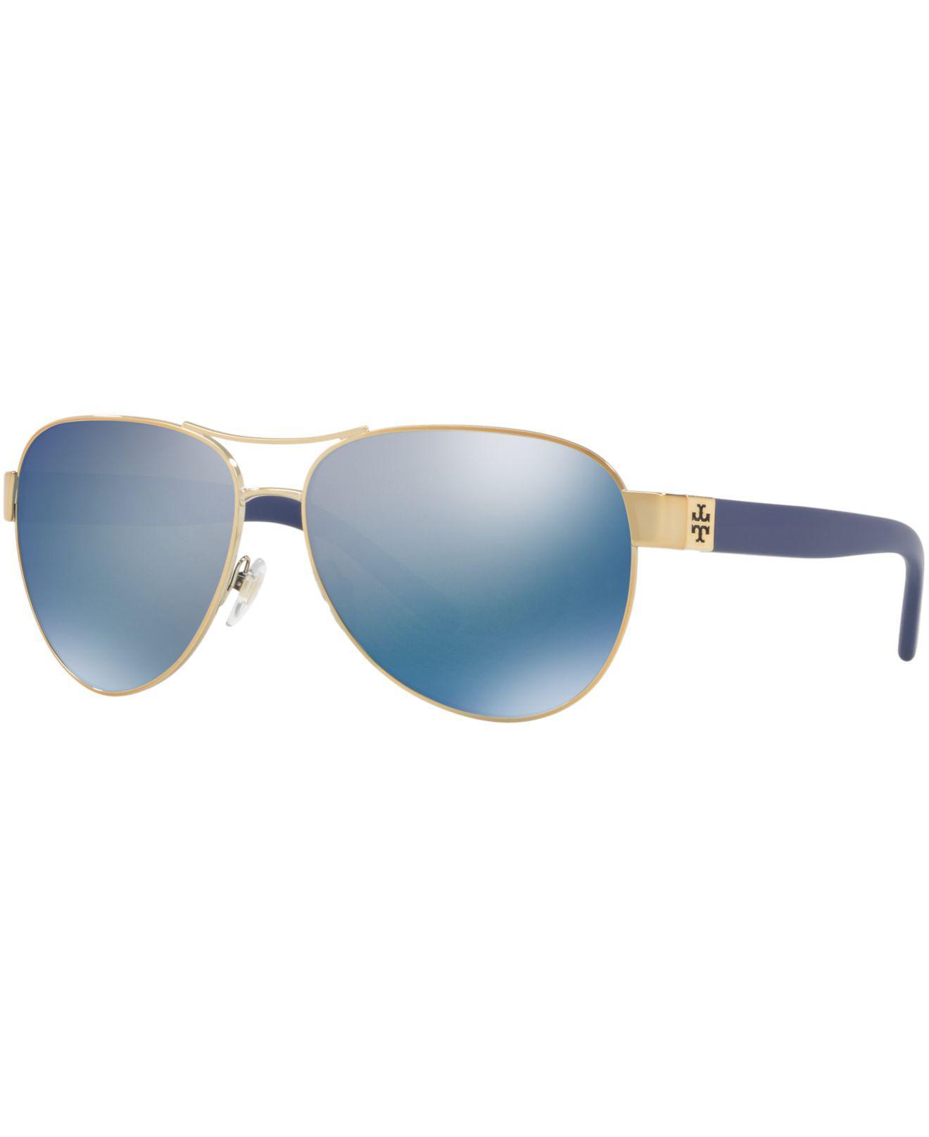 f1858c67d7 Lyst - Tory Burch Sunglasses