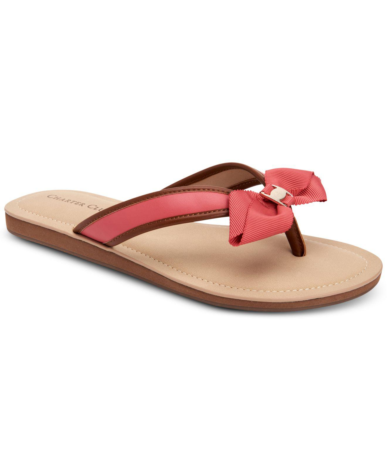 33b52774d126 Lyst - Charter Club Esmaraa Flip-flop Sandals
