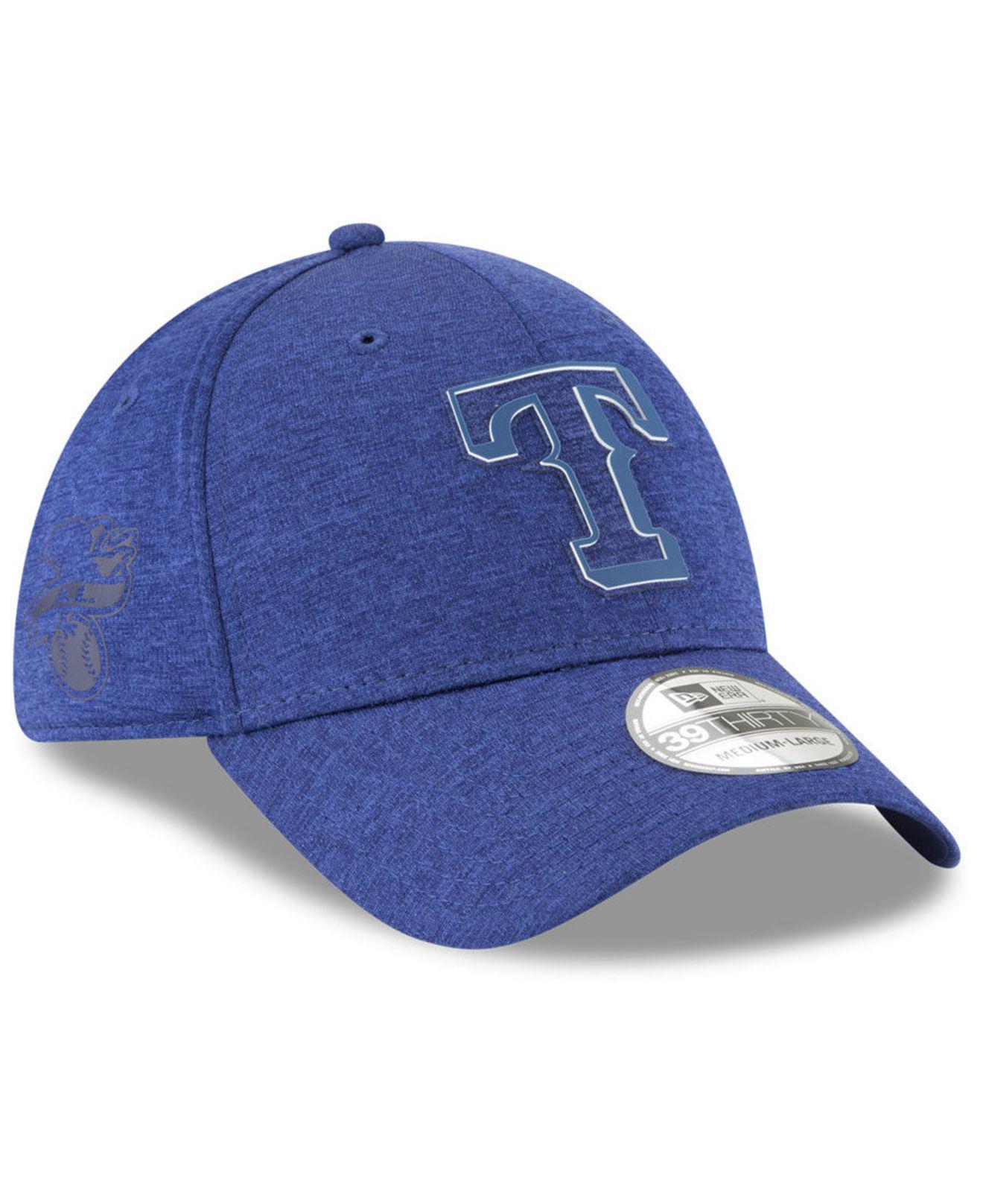 d4370da7f8b Lyst - Ktz Texas Rangers Clubhouse 39thirty Cap in Blue for Men