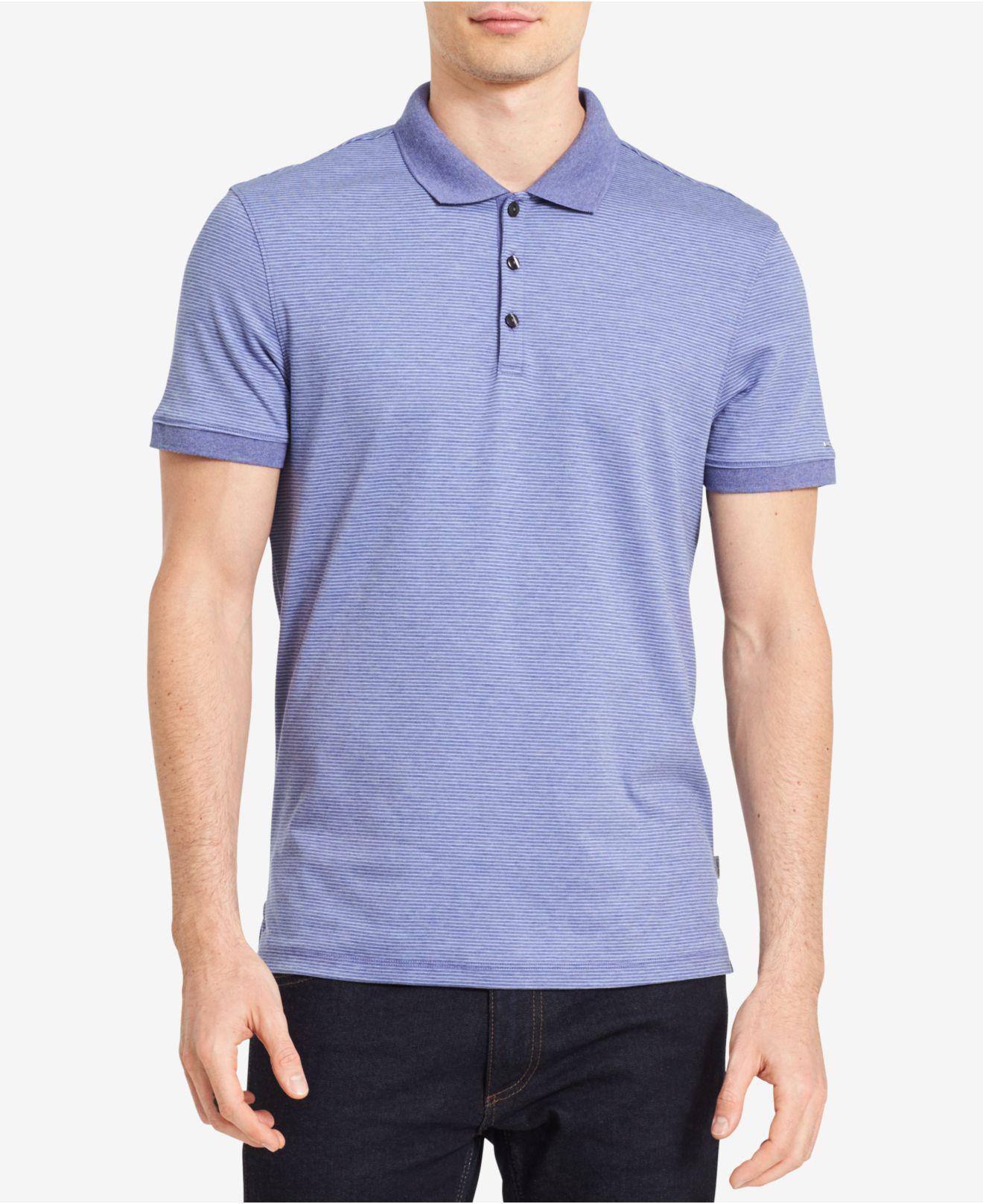 Micro Stripe Shirt Calvin Klein Hot Sale Sale Online Top Quality Clearance Shop For 8r0HiRykCc