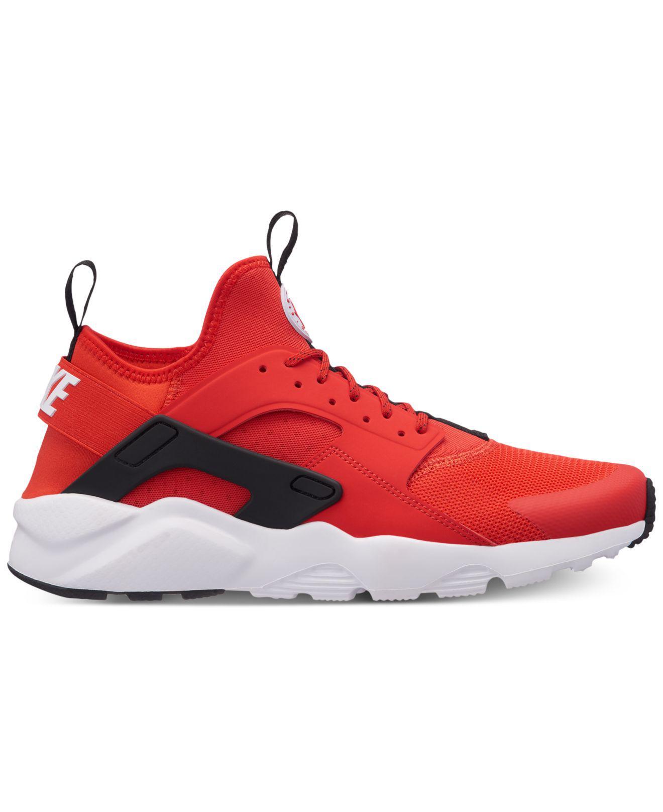 Nike Air Huarache Sneakers Men's Lifestyle Shoes Black/White