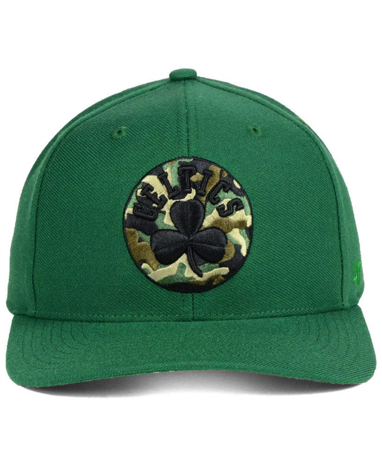 Lyst - 47 Brand Boston Celtics Camfill Mvp Cap in Green for Men a880ac2260d9