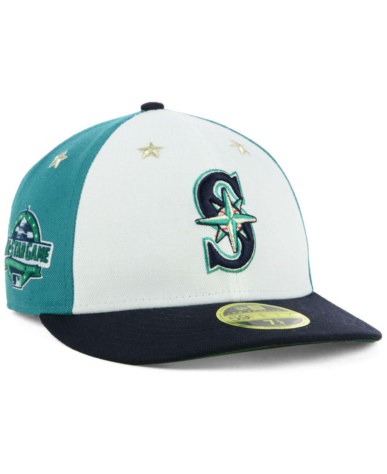 Lyst - KTZ Seattle Mariners All Star Game Patch Low Profile 59fifty ... 5fd9d3e28132