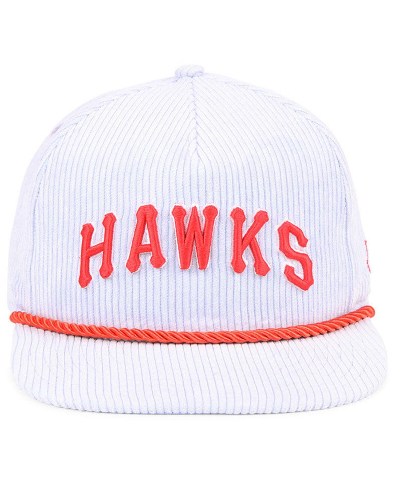 Lyst - KTZ Atlanta Hawks Hardwood Classic Nights Cords 9fifty Snapback Cap  for Men 2b6cbc3db