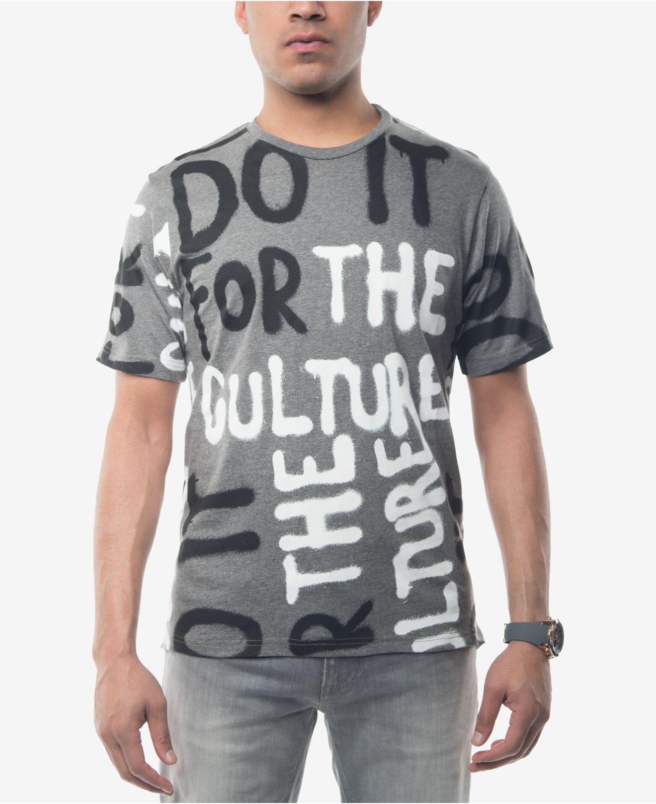 Sean john men 39 s do it for the culture graphic print t for Best place to get t shirts printed
