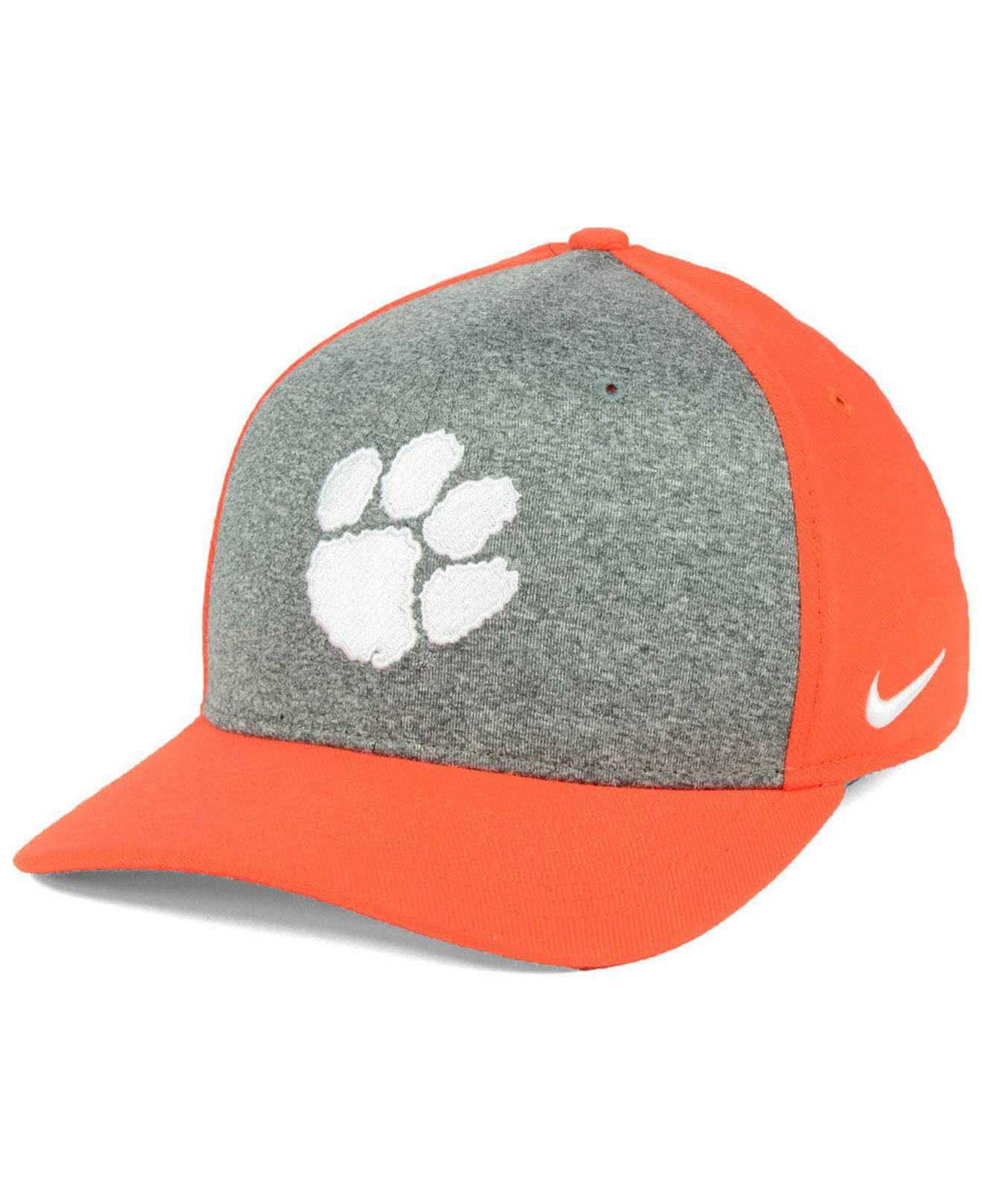 e978239cedc30 Lyst - Nike Clemson Tigers Legend Swooshflex Cap for Men