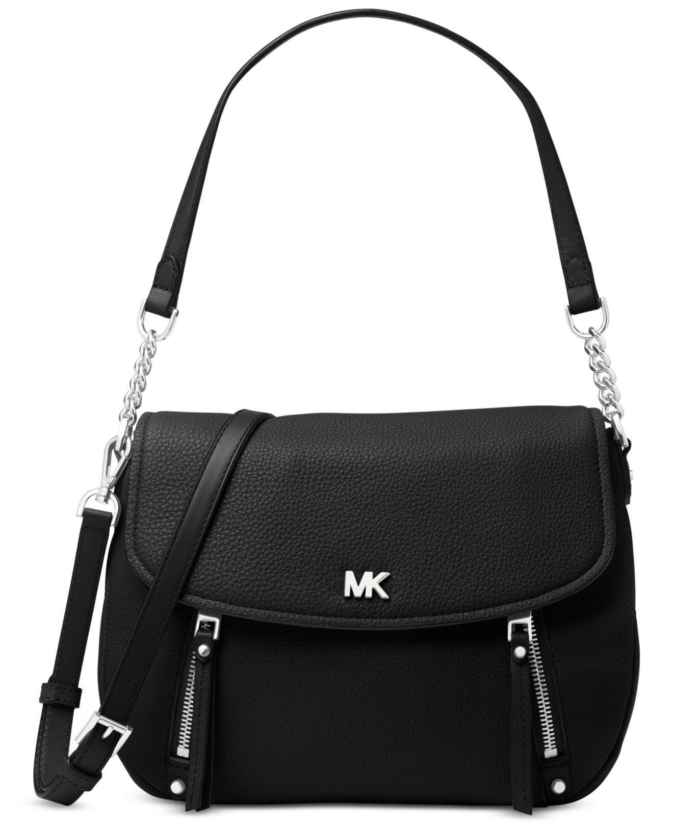 2b286e835b0e Michael Kors Michael Evie Shoulder Bag in Black - Save ...