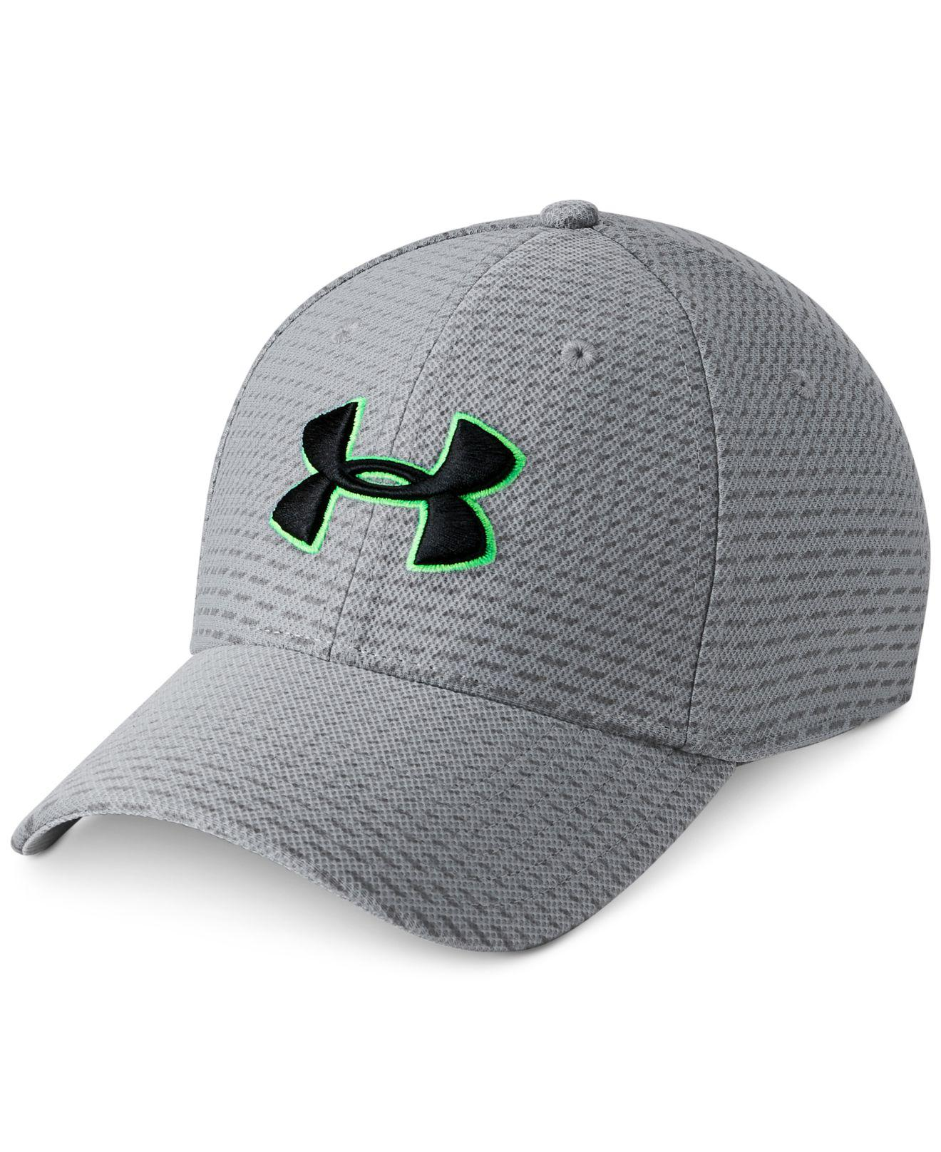 Lyst - Under Armour Blitzi Printed Hat in Gray for Men - Save 28.0% 84fad8364bd6