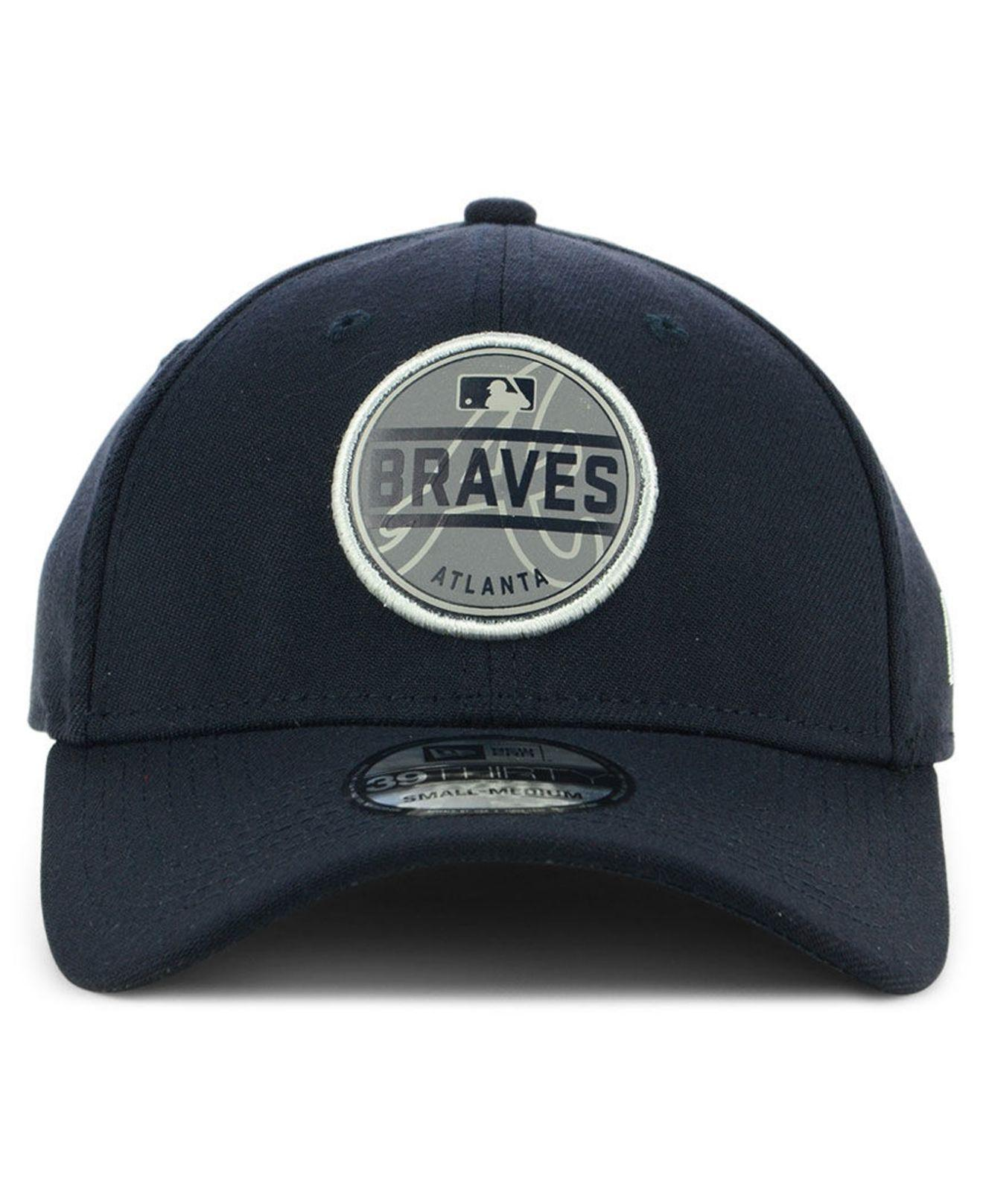 ee4435d6 9c729 f2d4b; france fit hat main container image 1 574ad closeout lyst ktz atlanta  braves circle reflect 39thirty