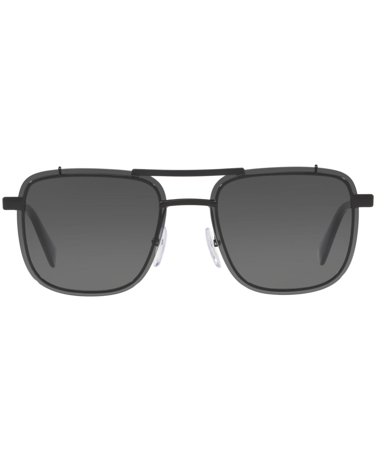 24f0e8898d Lyst - Prada 59us Rectangle Sunglasses in Black for Men