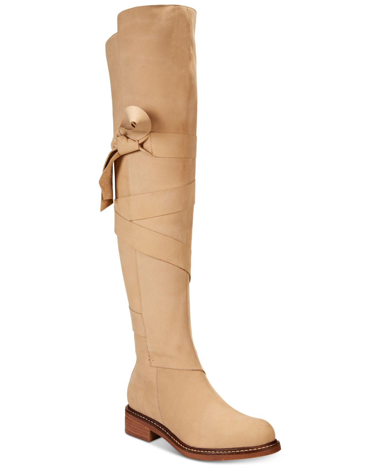 Kelsi Dagger Brooklyn Colby Leather Knee-Hight Boot vdi4Dl
