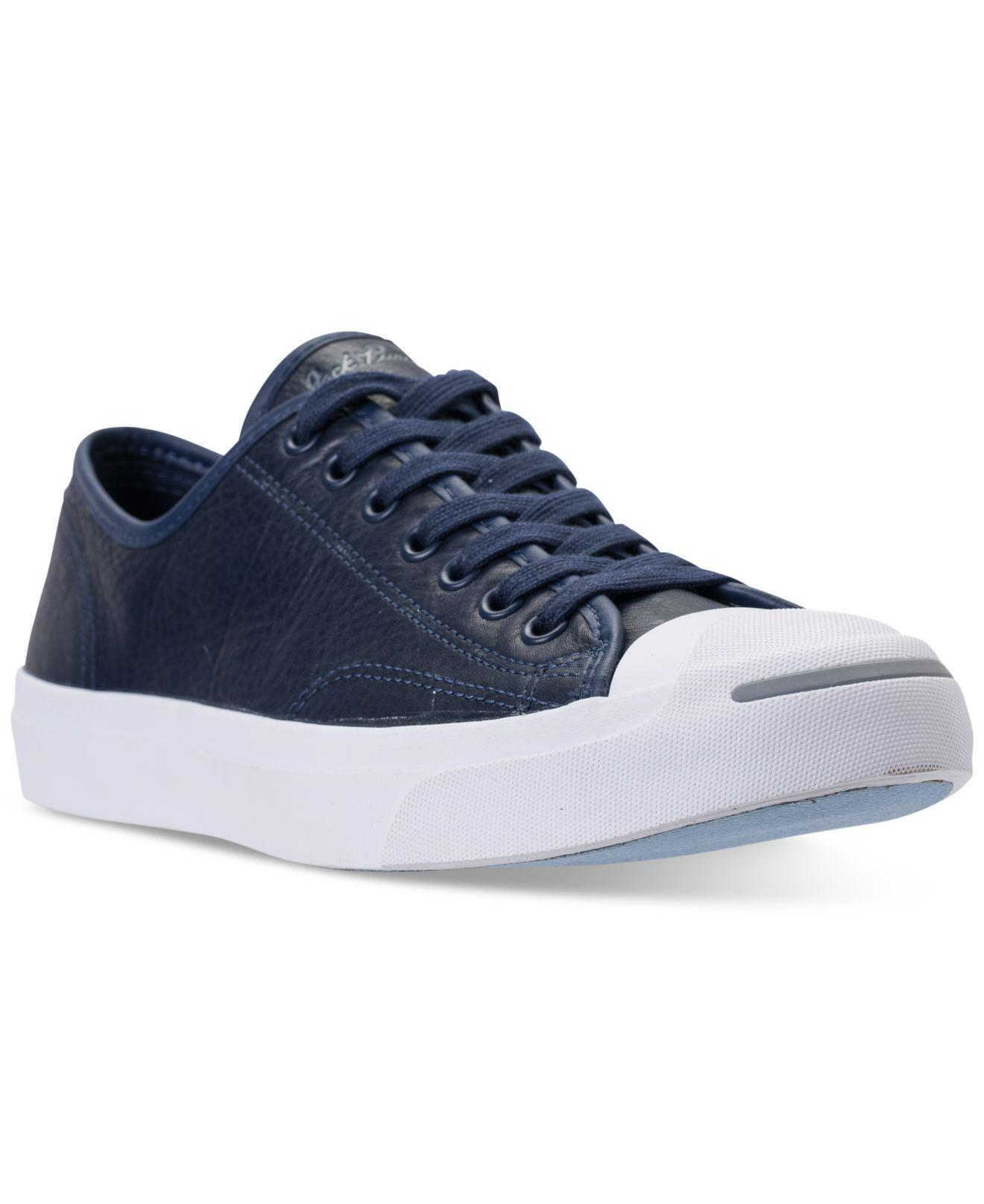 ea9f9185365087 Lyst - Converse Jack Purcell Low-top Casual Sneakers From Finish ...