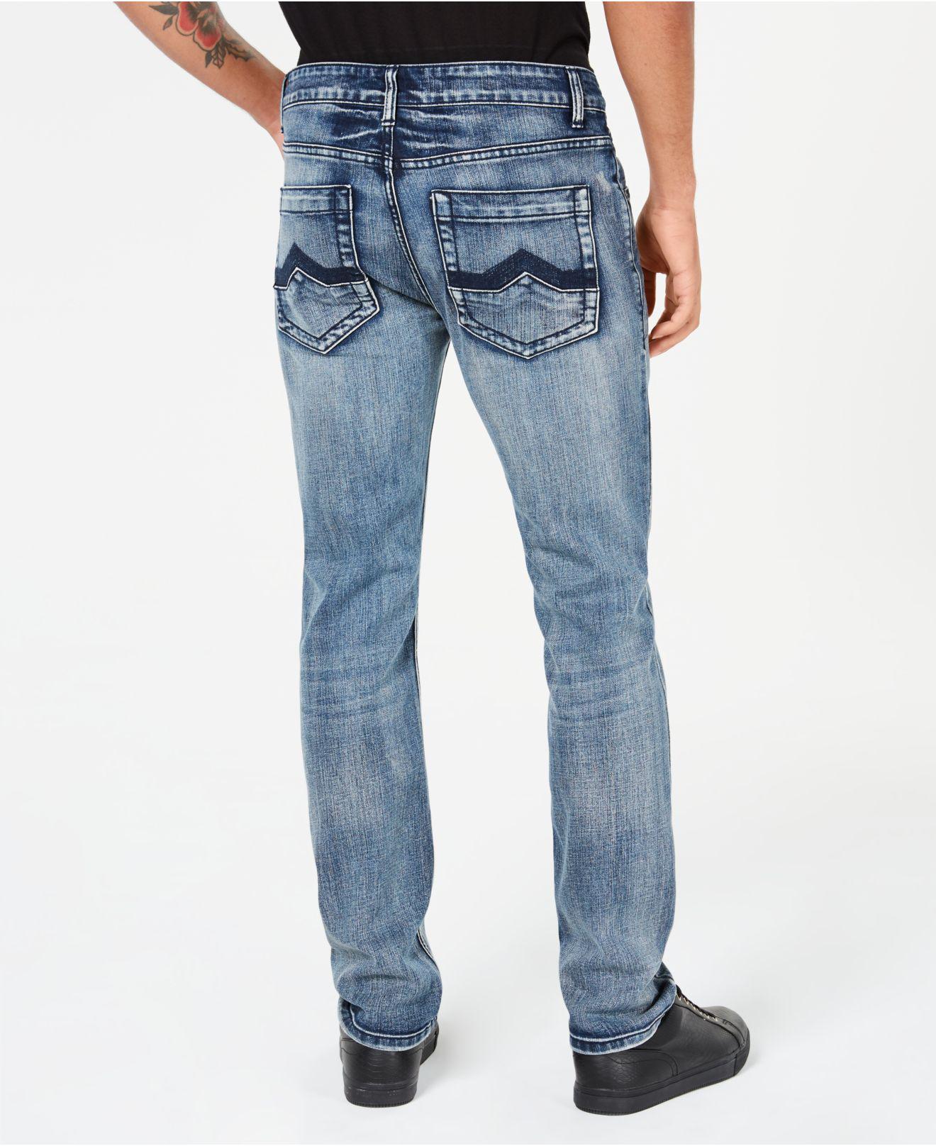 4bf4a917ddc9 INC International Concepts I.n.c. Stretch Slim Straight Jeans ...