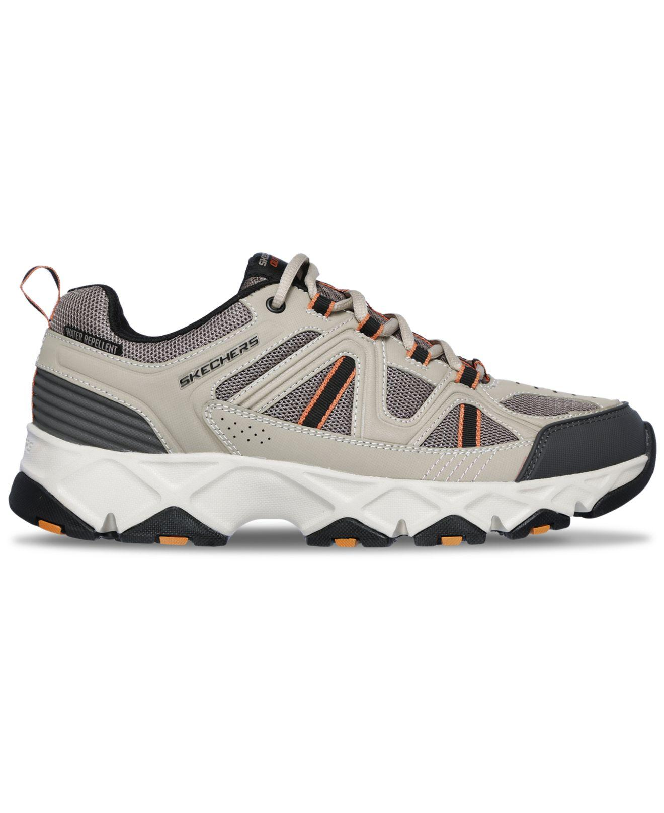 b8bd24631 Lyst - Skechers Relaxed Fit  Crossbar Outdoor Walking Sneakers From Finish  Line in Black for Men