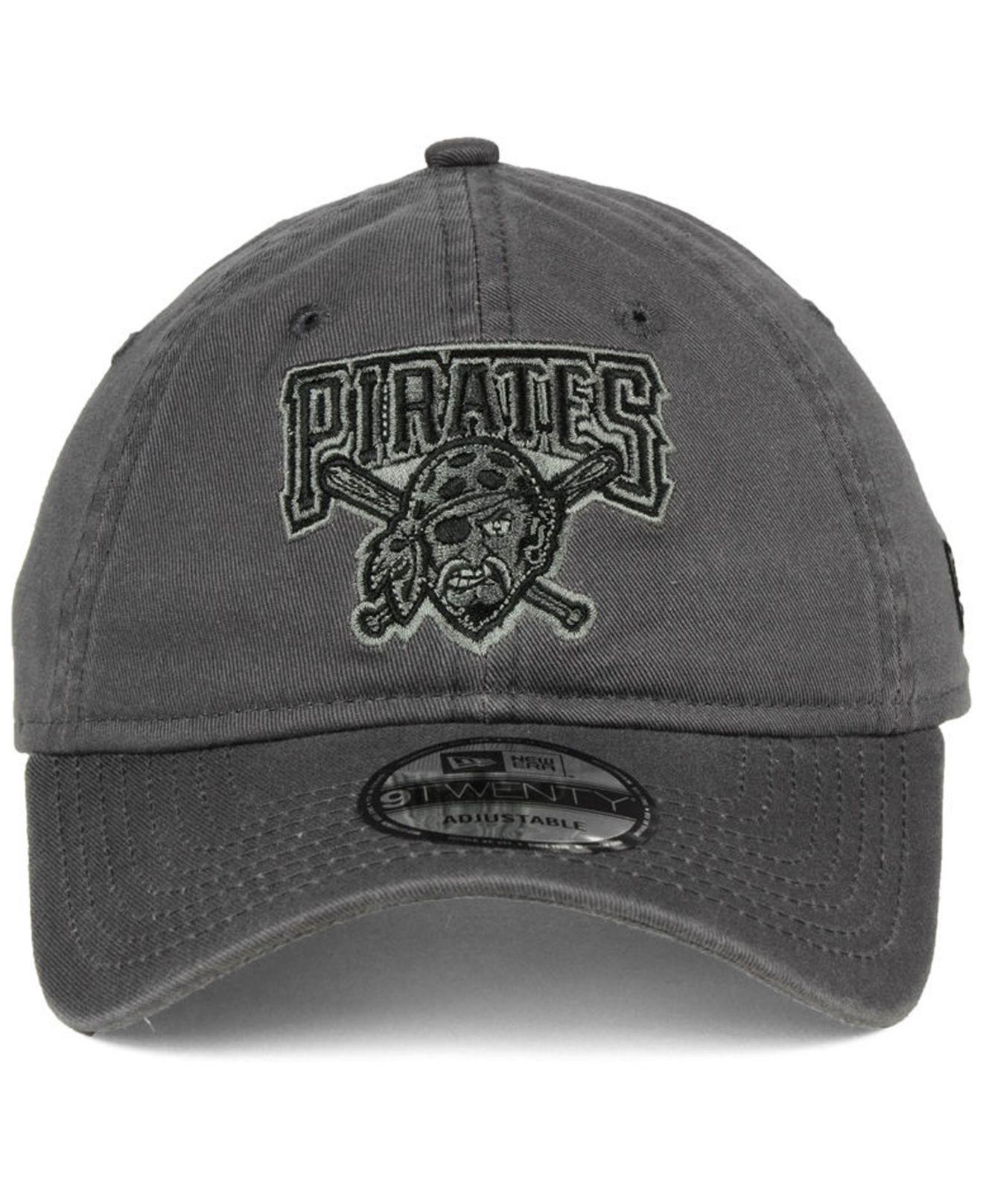 on sale e8647 9844a Lyst - KTZ Pittsburgh Pirates Graphite 9twenty Cap in Gray for Men
