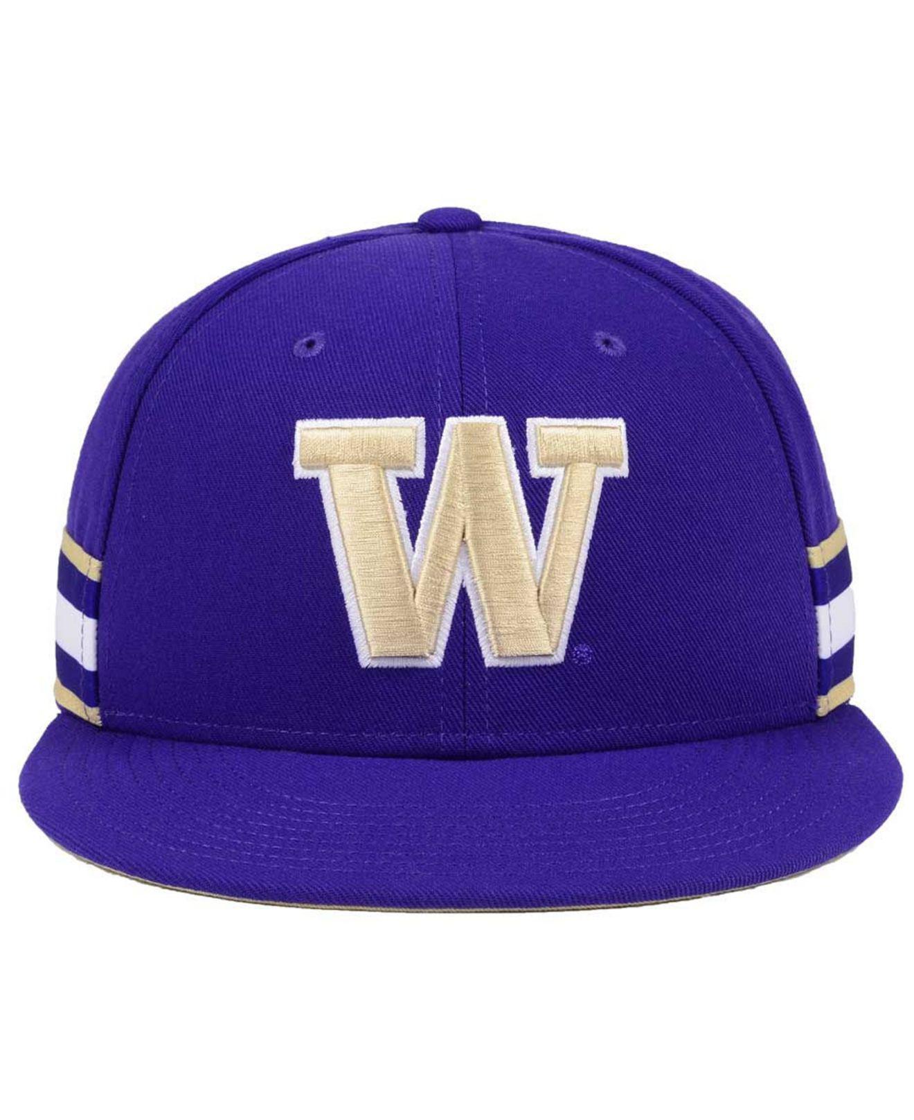 best service e62d6 77502 ... duke blue devils sleeve stripe raglan 3 4 sleeve tri c11d0 1a023  shop lyst  nike true woven stripe snapback cap in purple for men d32da a11ce