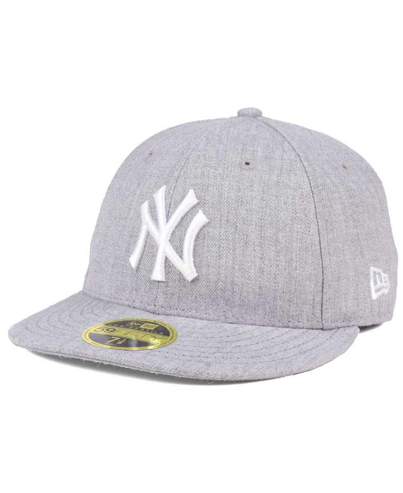 the best attitude 73f12 b8701 Lyst - KTZ New York Yankees Low Profile C-dub 59fifty Fitted Cap in ...