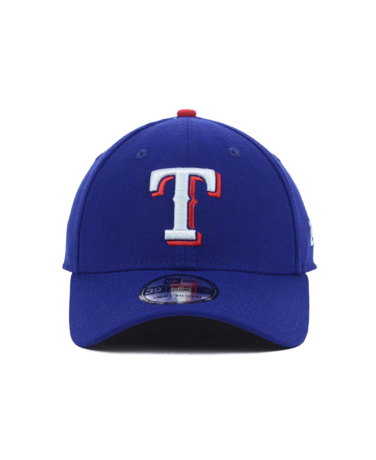 Lyst - KTZ Texas Rangers Mlb Team Classic 39thirty Cap in Blue for Men cb6e00d0576e