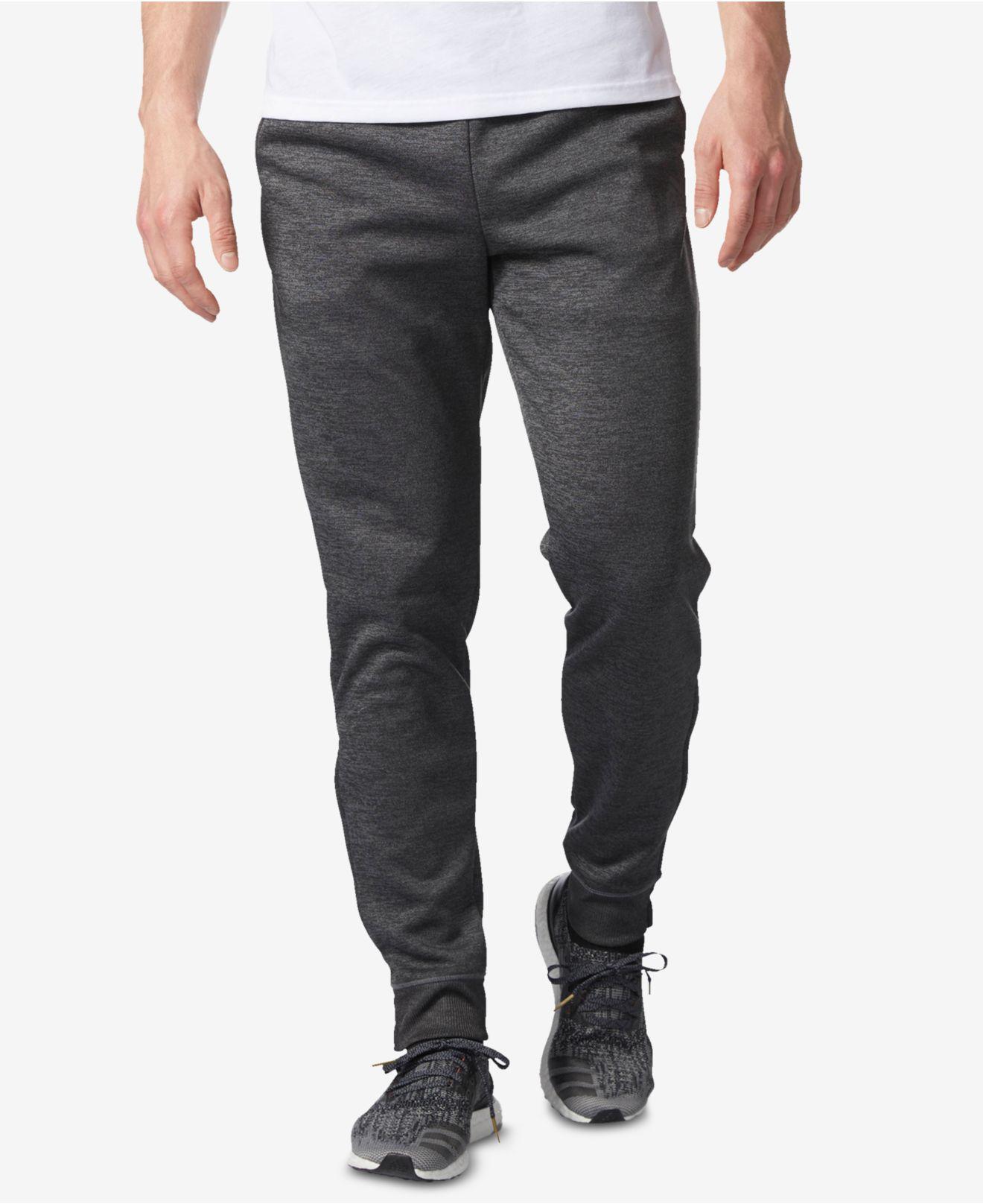 adidas. Gray Men's Climawarm® Fleece Joggers