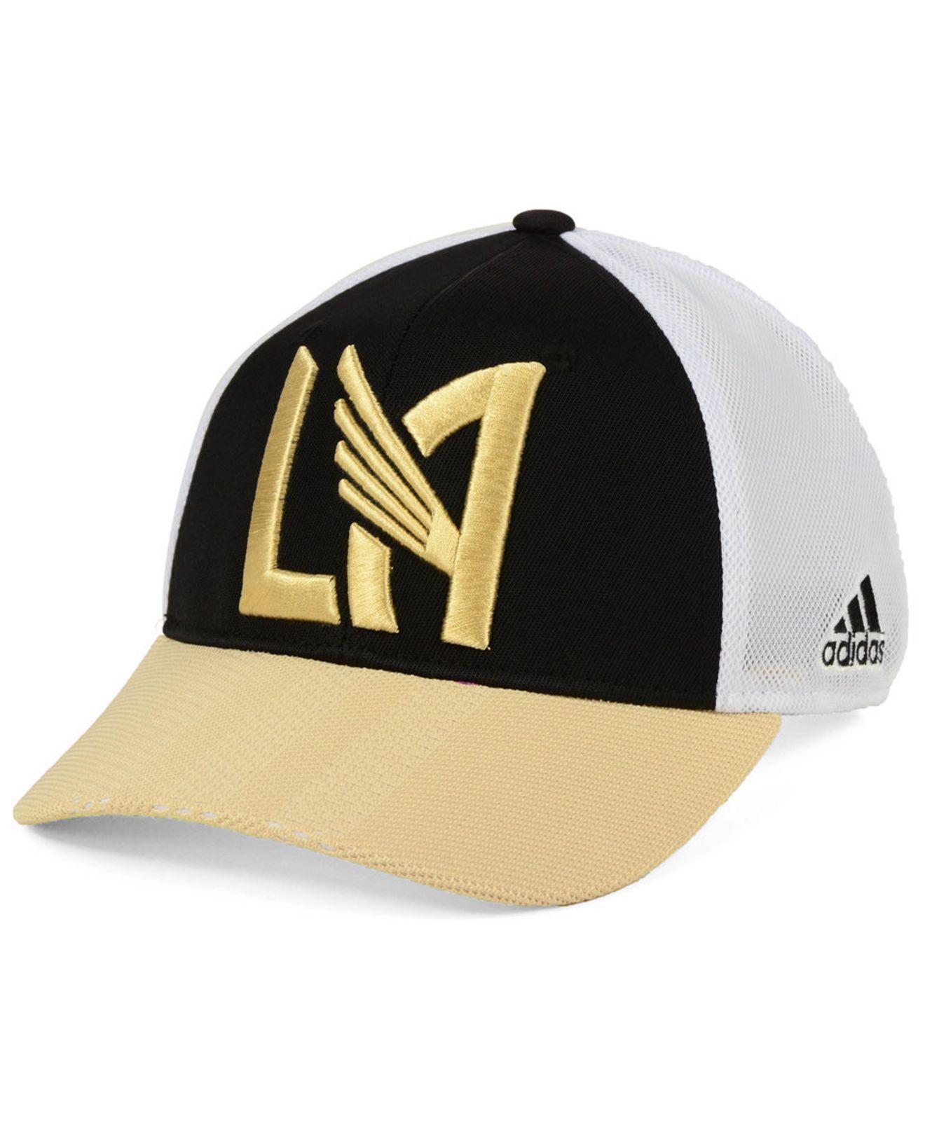 buy online de646 00e07 ... sports fan shop by lids men macys 26a77 f603c  new zealand adidas black  los angeles football club authentic mesh adjustable cap for men lyst.