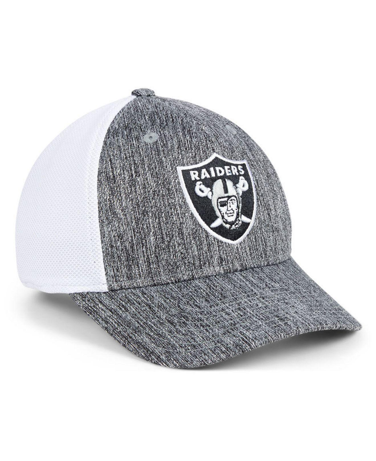 best authentic eaa77 f94eb ... wholesale 47 brand multicolor oakland raiders hazy flex contender  stretch fitted cap for men lyst.