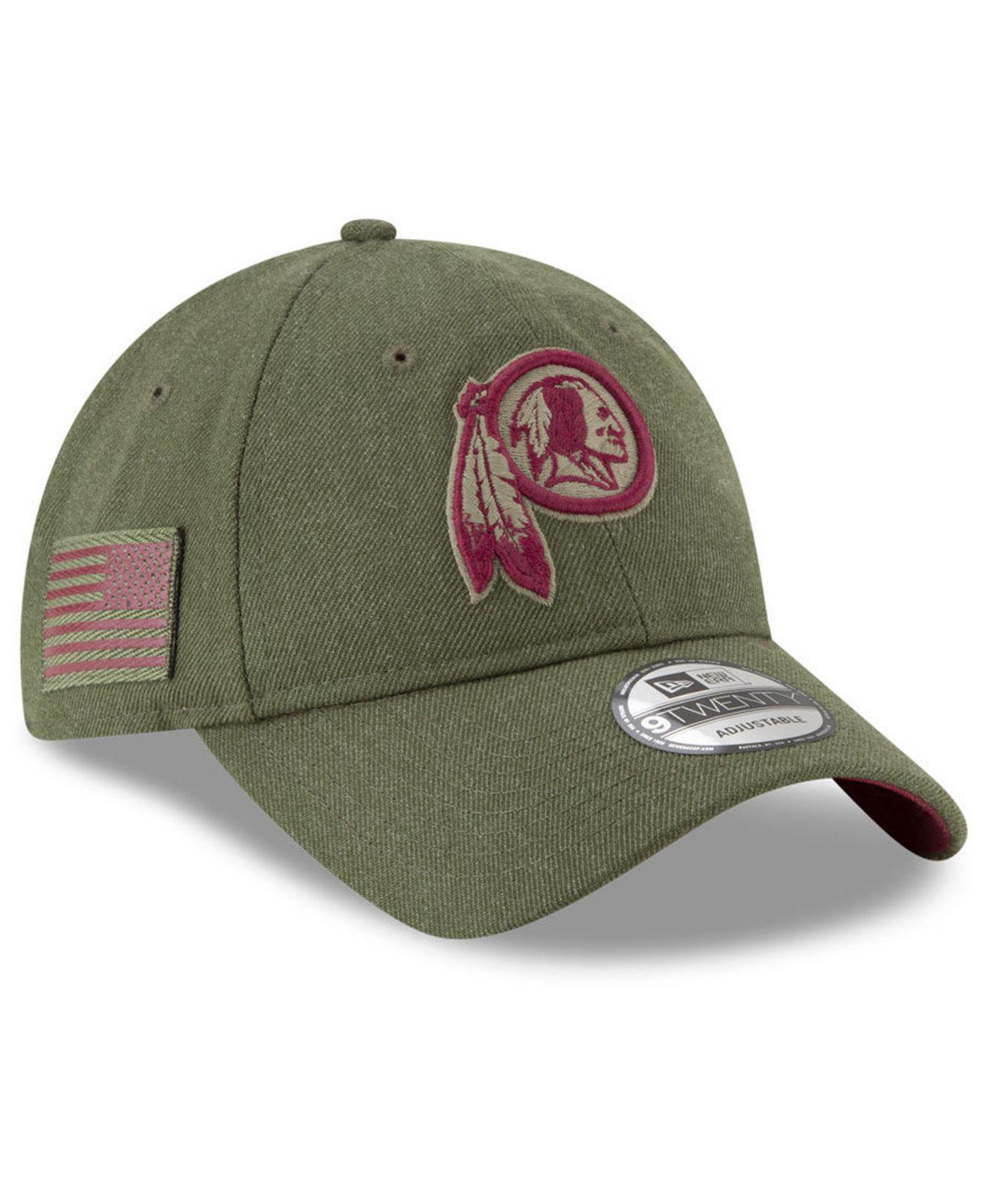 b042ee53b Lyst - Ktz Washington Redskins Salute To Service 9twenty Cap in ...