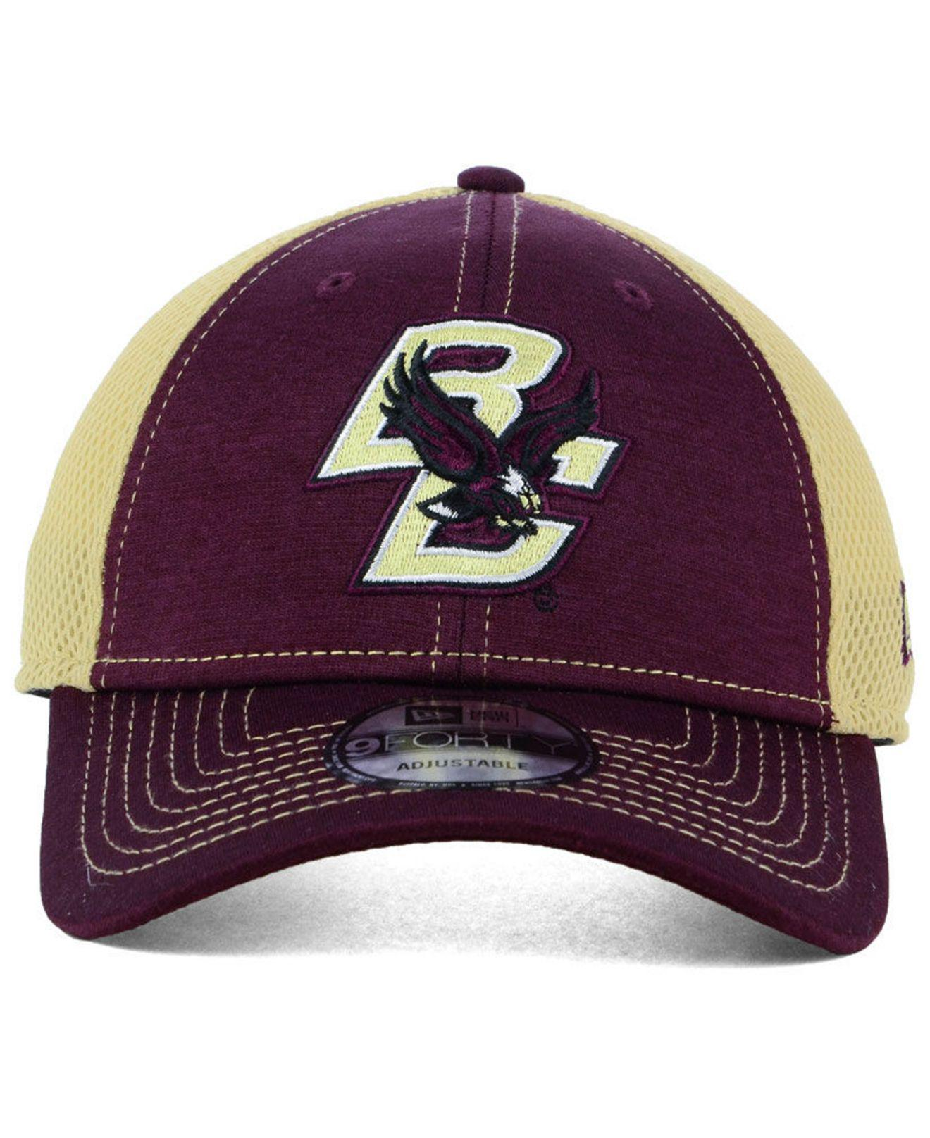 info for b7993 77a3b Lyst - KTZ Boston College Eagles Shadow Turn 9forty Cap in Purple ...