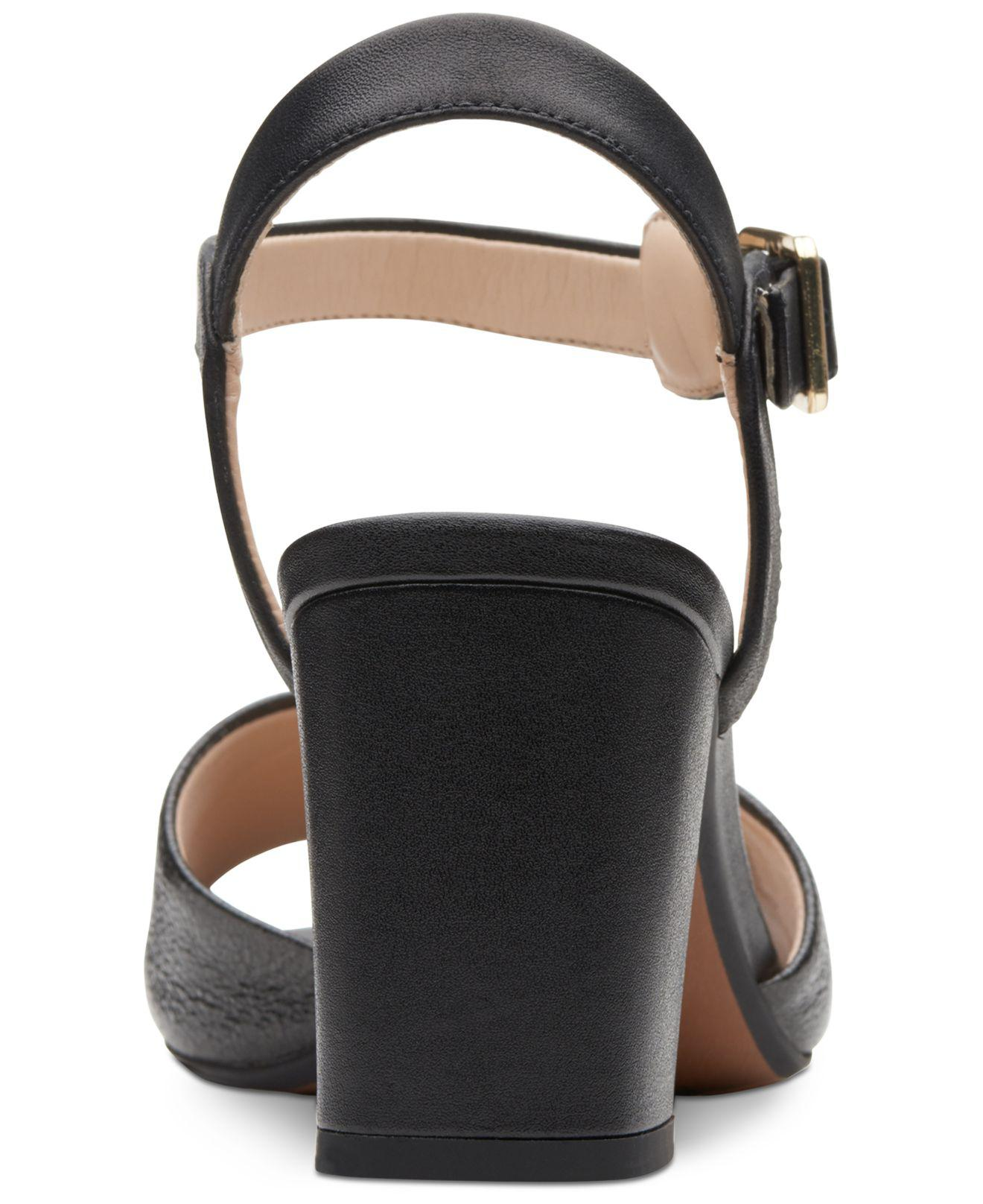 b8b9b871dce3 Lyst - Clarks Deva Quest Dress Sandals in Black