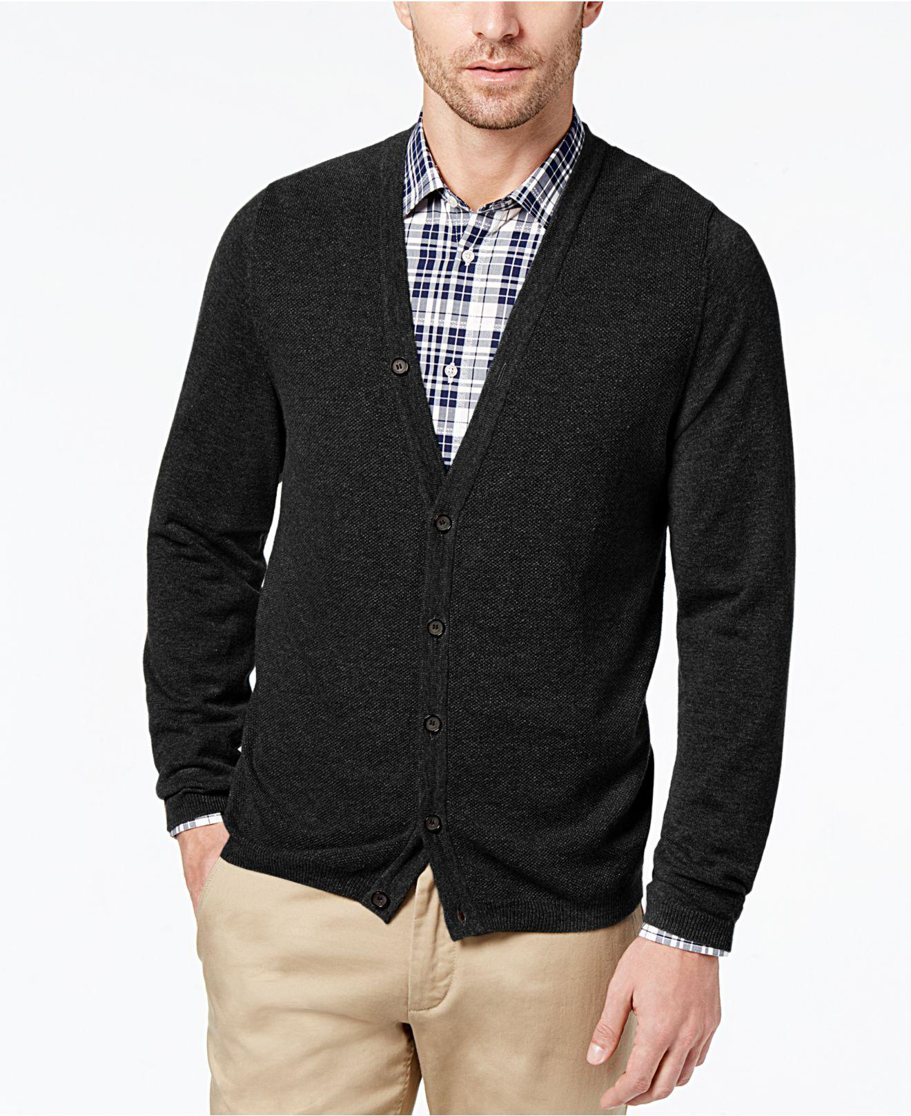 Daniel hechter Men's Essential Classic-fit Cardigan in Black for ...