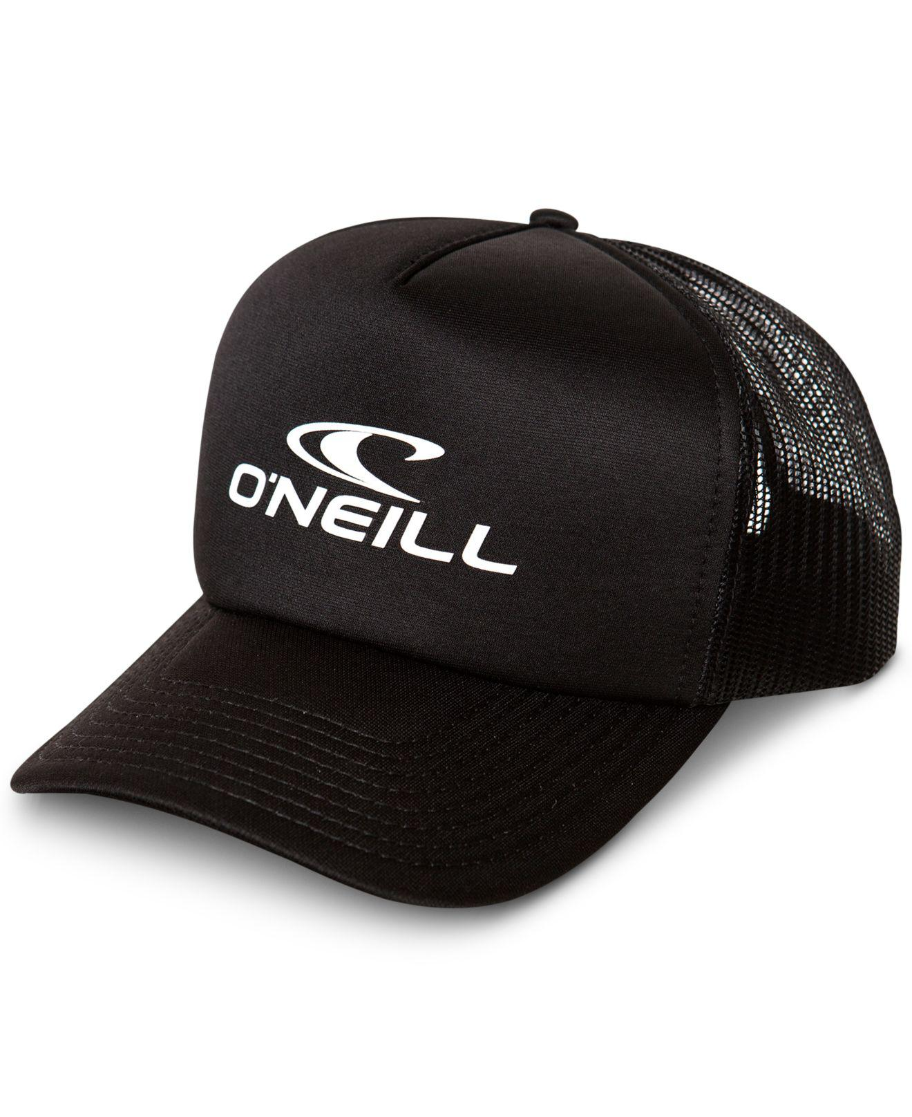 09371bda3d2 Lyst - O neill Sportswear Superior Logo Trucker Hat in Black for Men