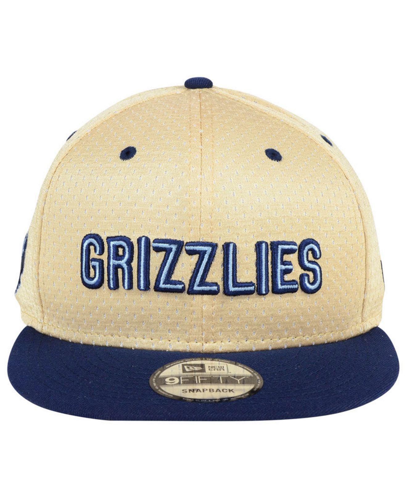 differently e41a5 962c2 ... cheap lyst ktz memphis grizzlies champagne 9fifty snapback cap in blue  for men 91db6 65e9d