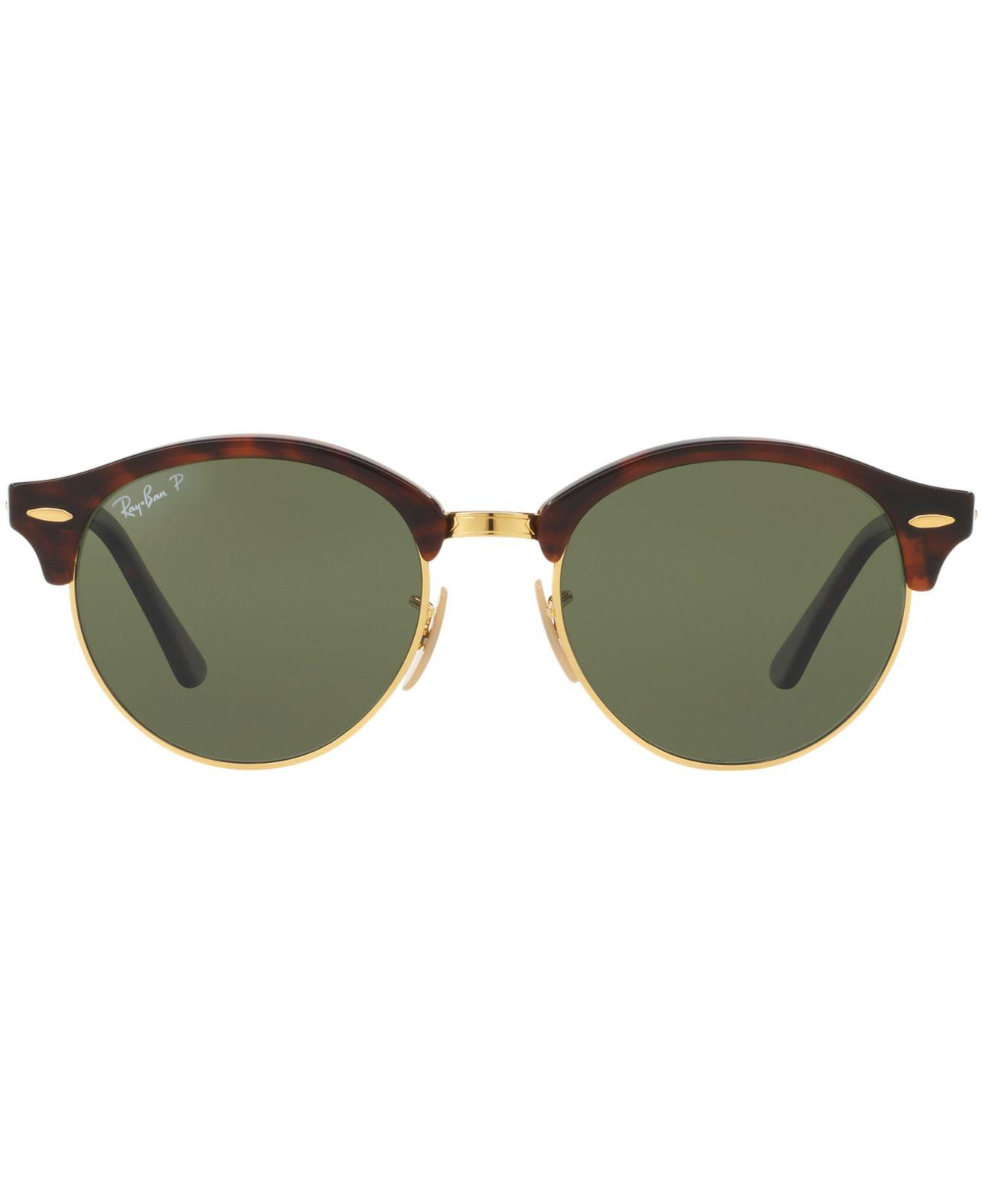 4c4a69cf04 Lyst - Ray-Ban Rb4246 Clubround in Metallic