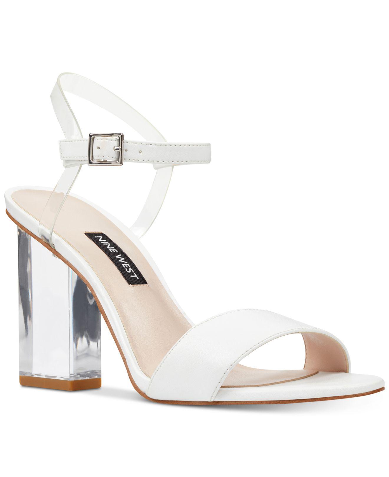 Nine West Fiesty City Sandals Women's Shoes Dpb8Ss1