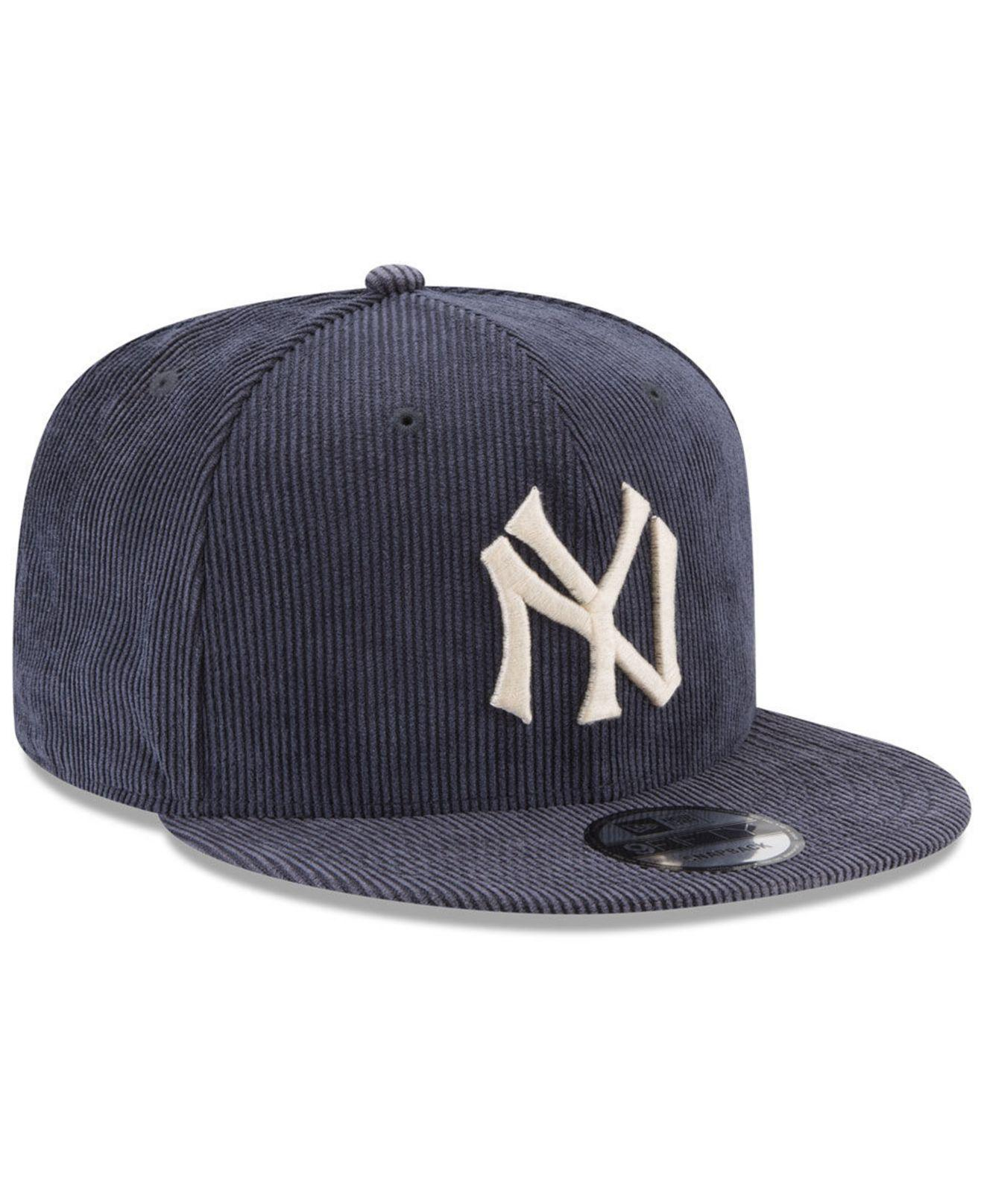 0df8f294 KTZ New York Yankees All Cooperstown Corduroy 9fifty Snapback Cap in ...