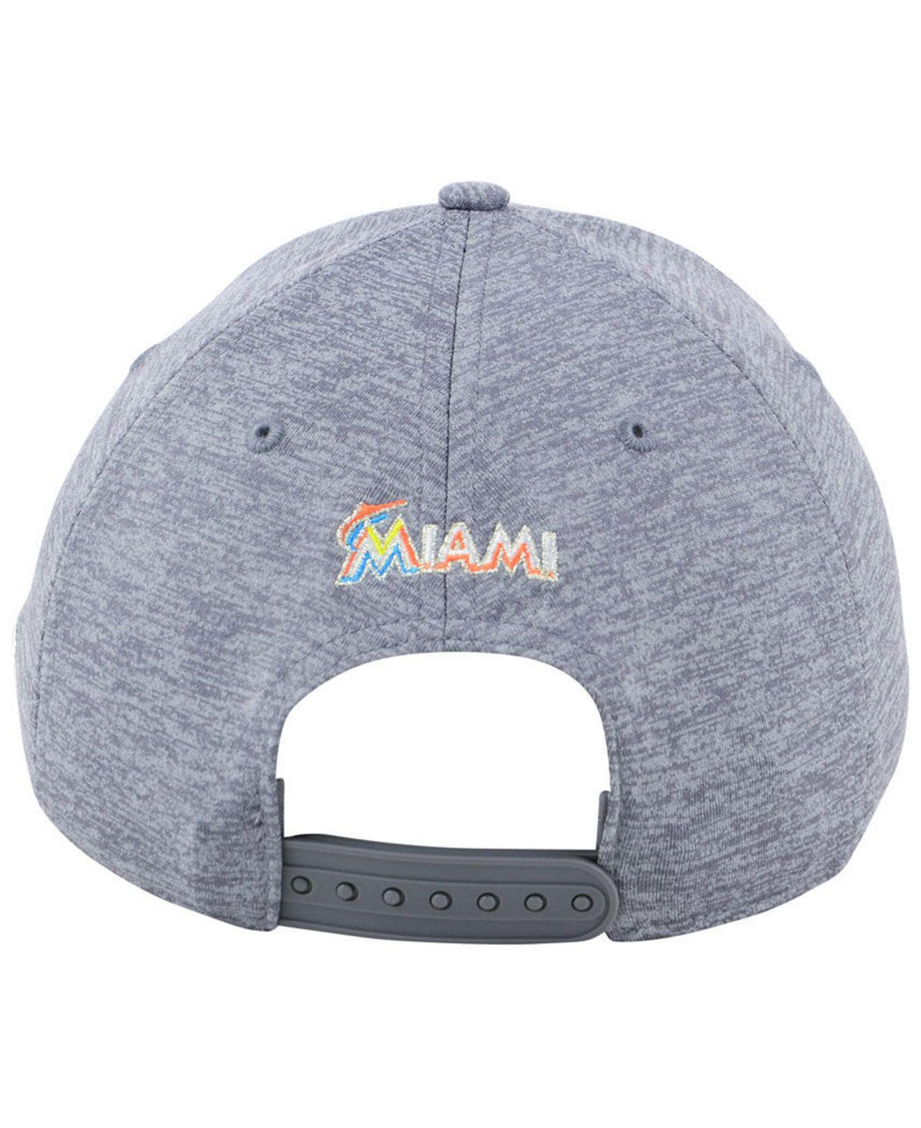 a5f92edeb51 ... discount code for lyst under armour miami marlins twist closer cap in  gray for men 94c27