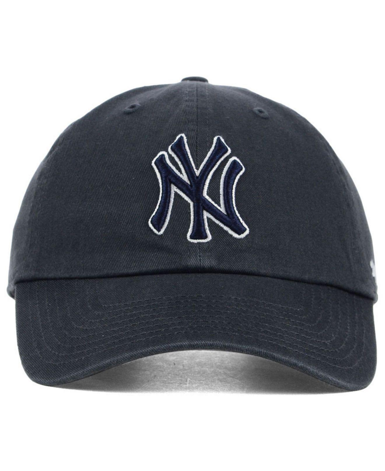 Lyst - 47 Brand New York Yankees Clean Up Cap in Gray for Men d39e08f3a